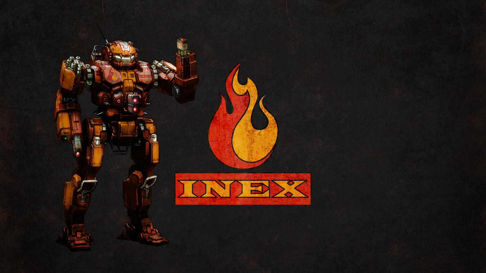 … Wallpaper MWO Firestarter and INEX logo by Odanan