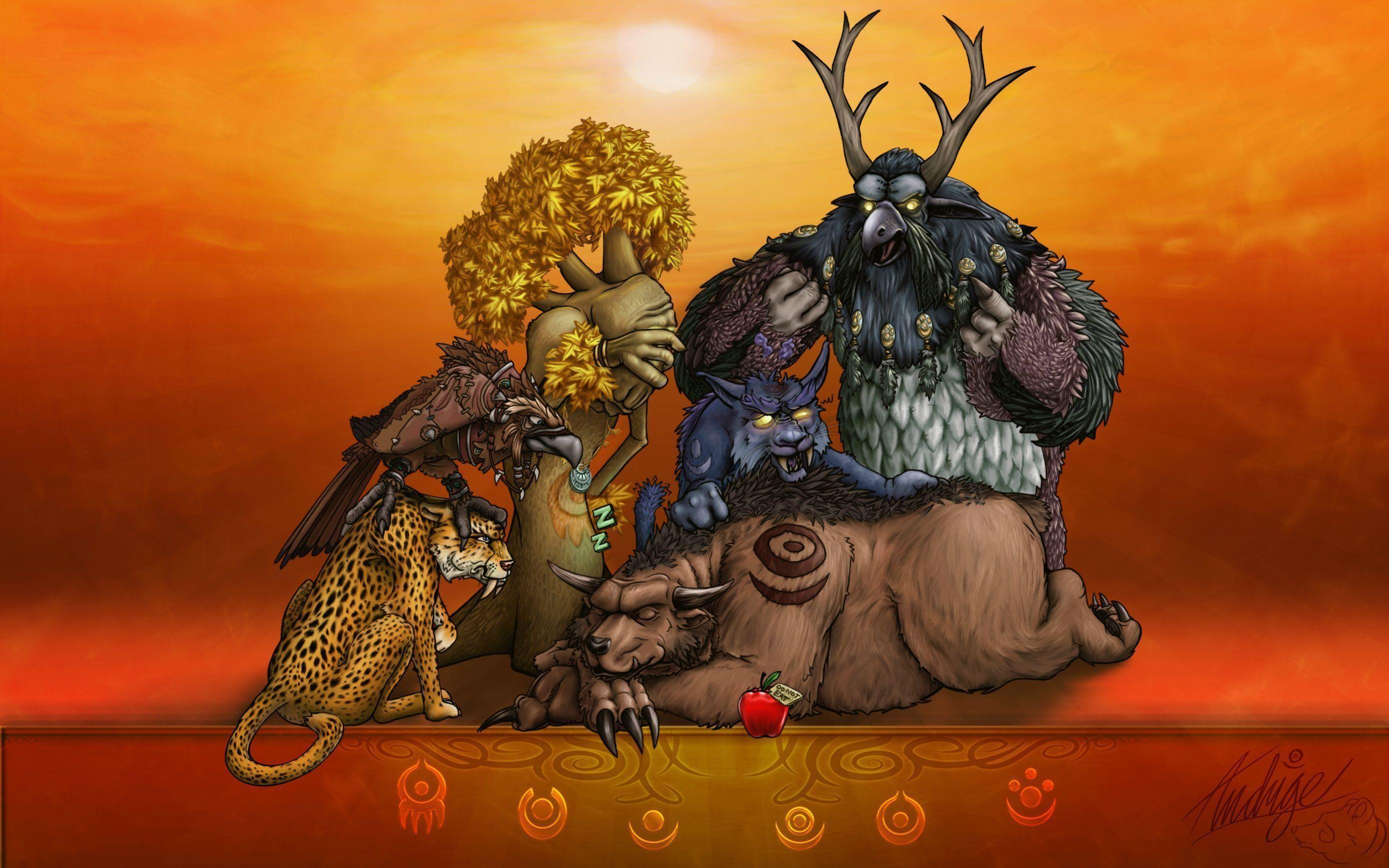 Druid Wallpaper : wow