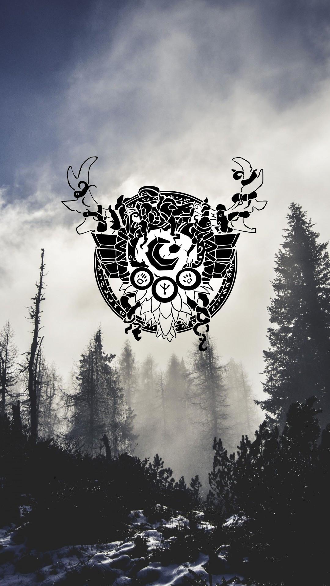 ImageMobile Druid Wallpaper …