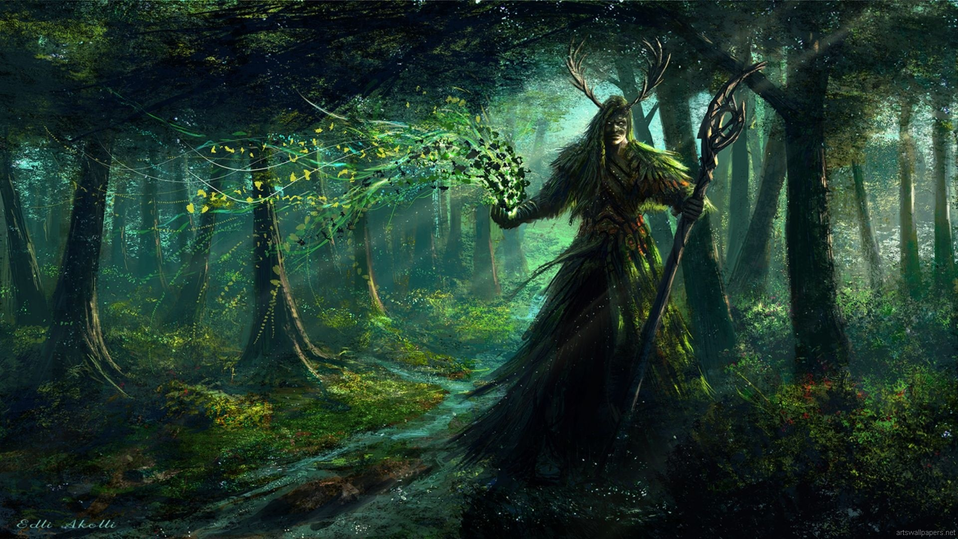 Character Build: The Forest Druid – The Tamriel Vault