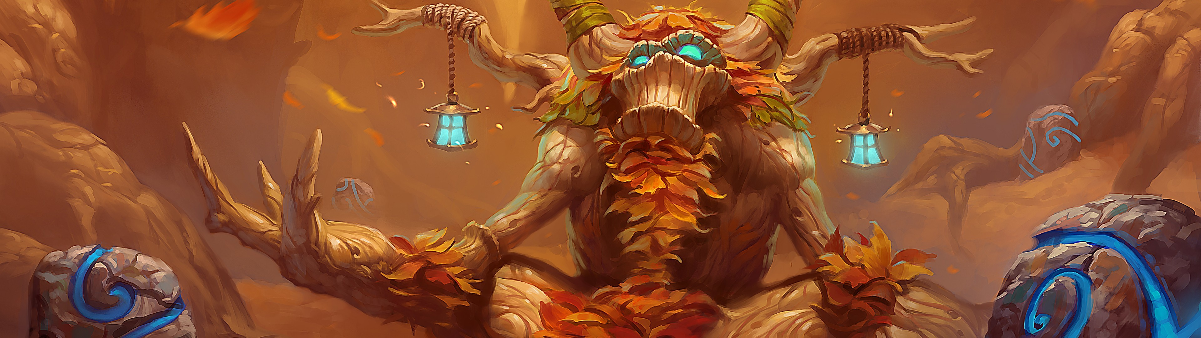 World of Warcraft, Druid, Mana tree, Dual monitors, Multiple display  Wallpapers HD / Desktop and Mobile Backgrounds