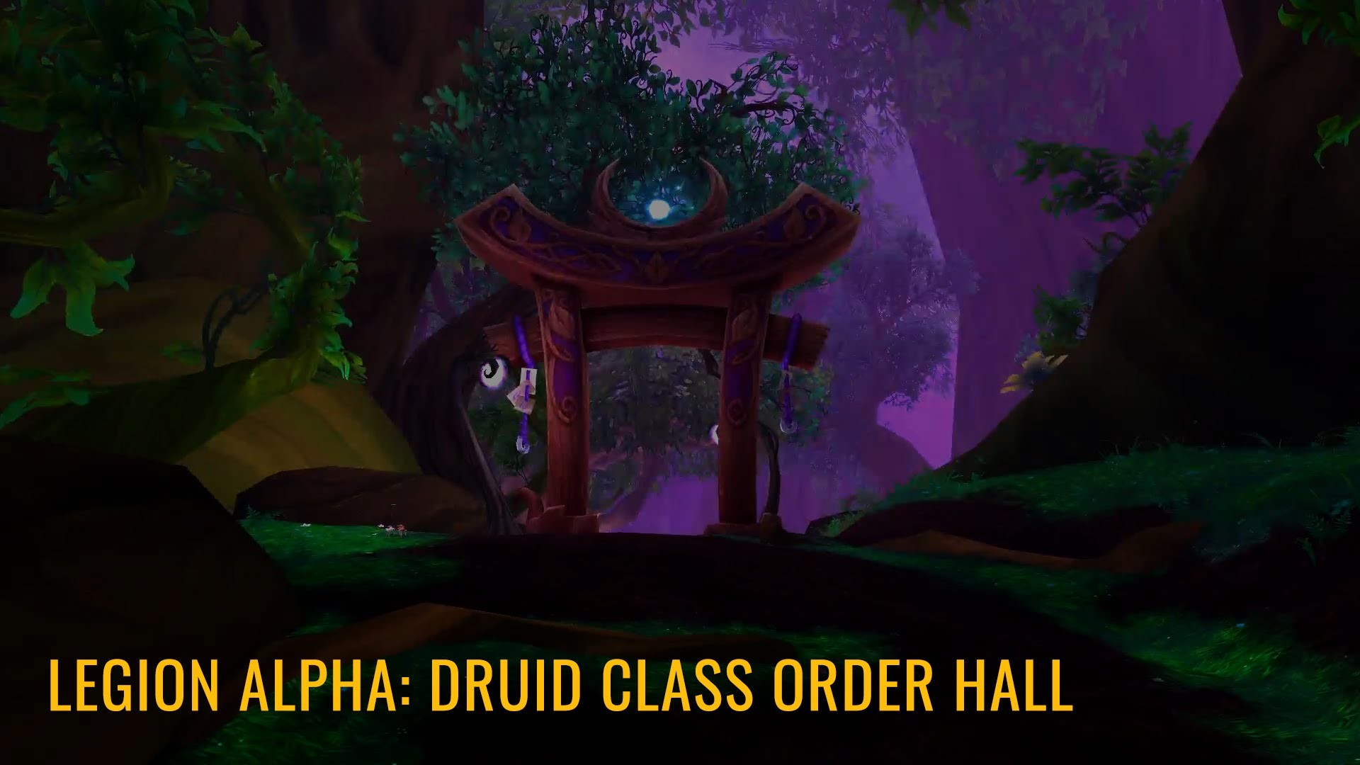 Legion: Druid Class Order Hall | The Dreamgrove | World of Warcraft