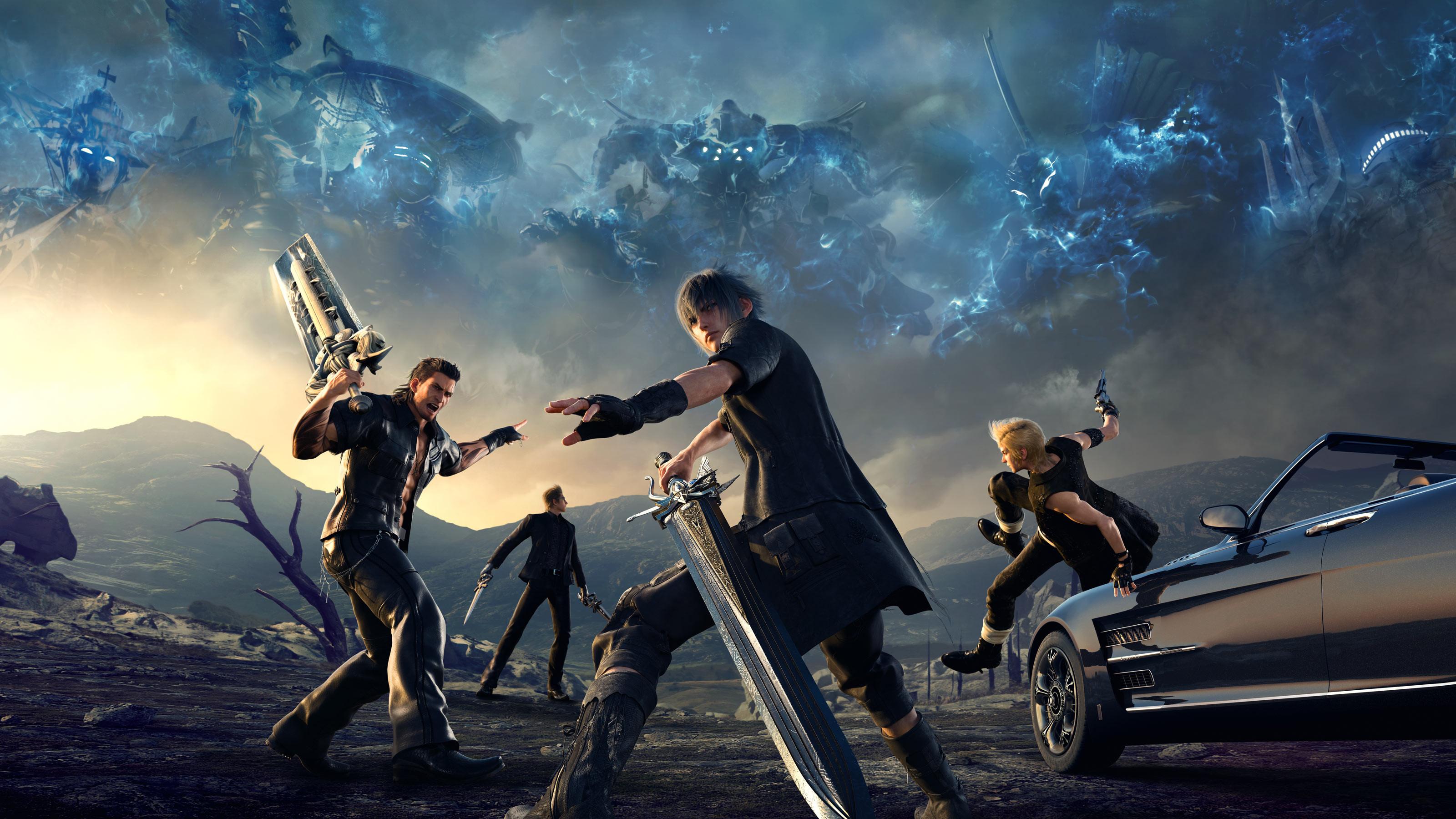 HD Wallpaper   Background ID:746998. Video Game Final Fantasy XV.  28 Like. Favorite. Deridder45