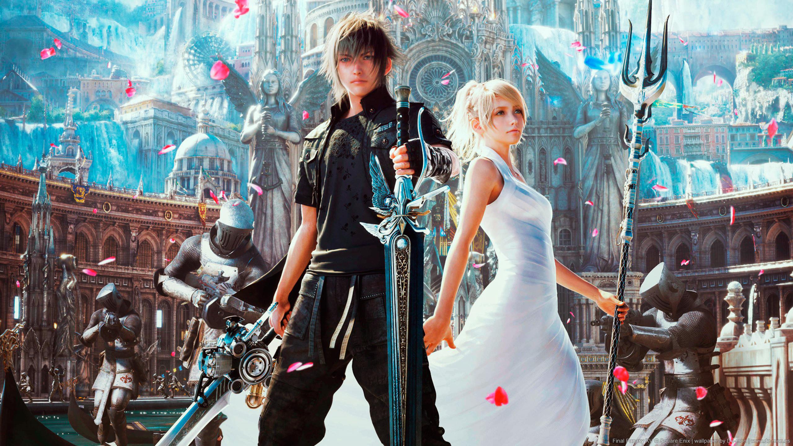 Final Fantasy XV, Artwork, HD. Original Resolution: 2560×1440