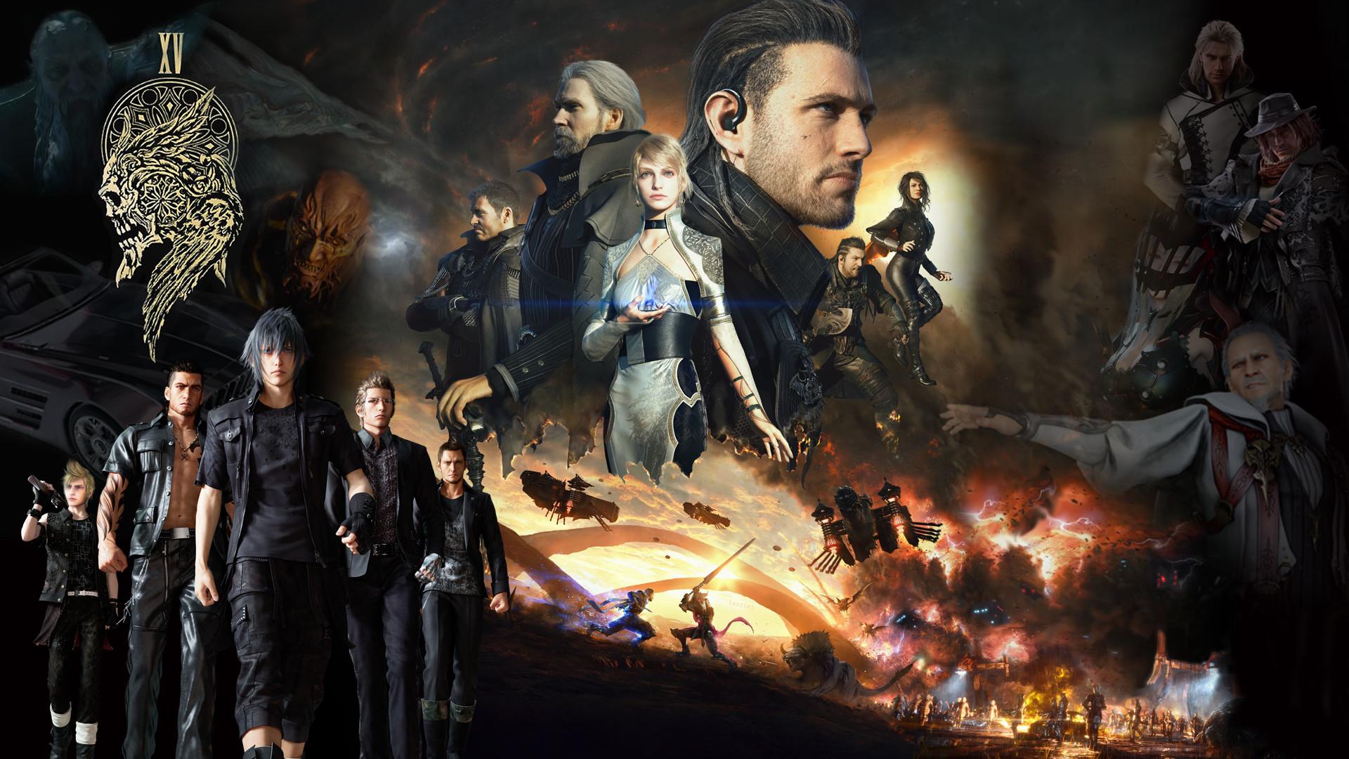 … Final Fantasy XV universe Wallpaper 1080p by REALzeles