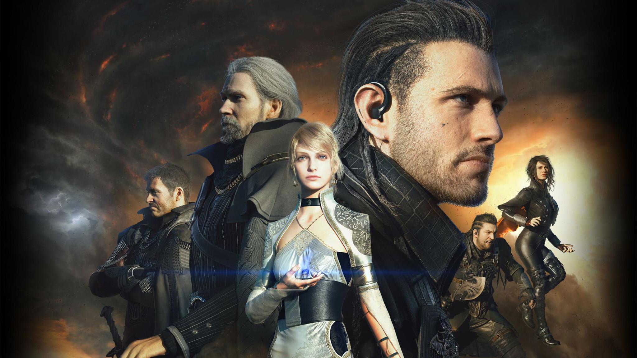 Download Kingsglaive Final Fantasy XV HD Wallpaper In Screen  Resolution