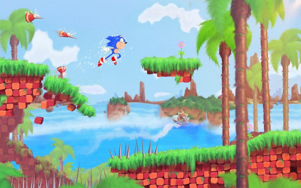 Sonic the Hedgehog Wallpaper 3000×1875