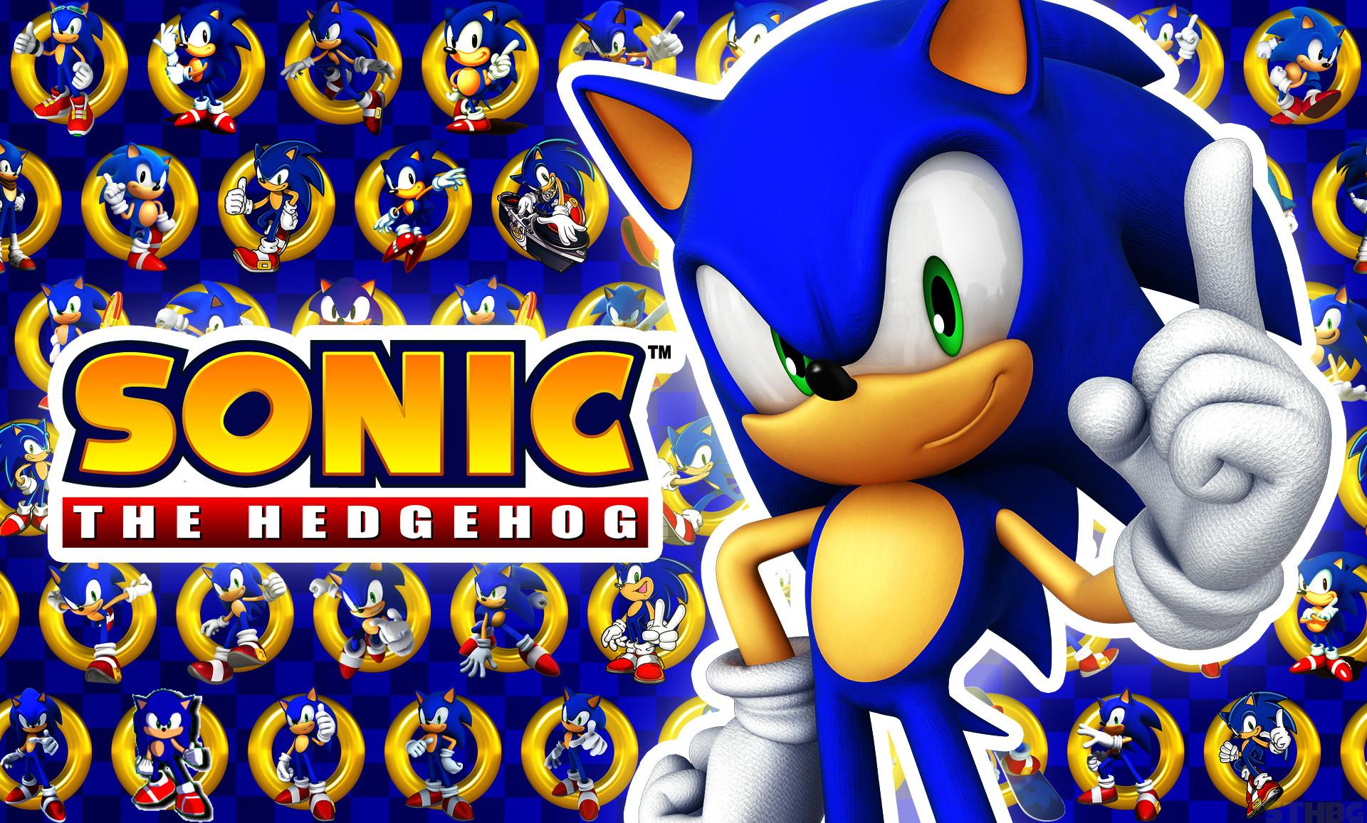 Sonic The Hedgehog Wallpaper by SonicTheHedgehogBG on DeviantArt 1920×1157