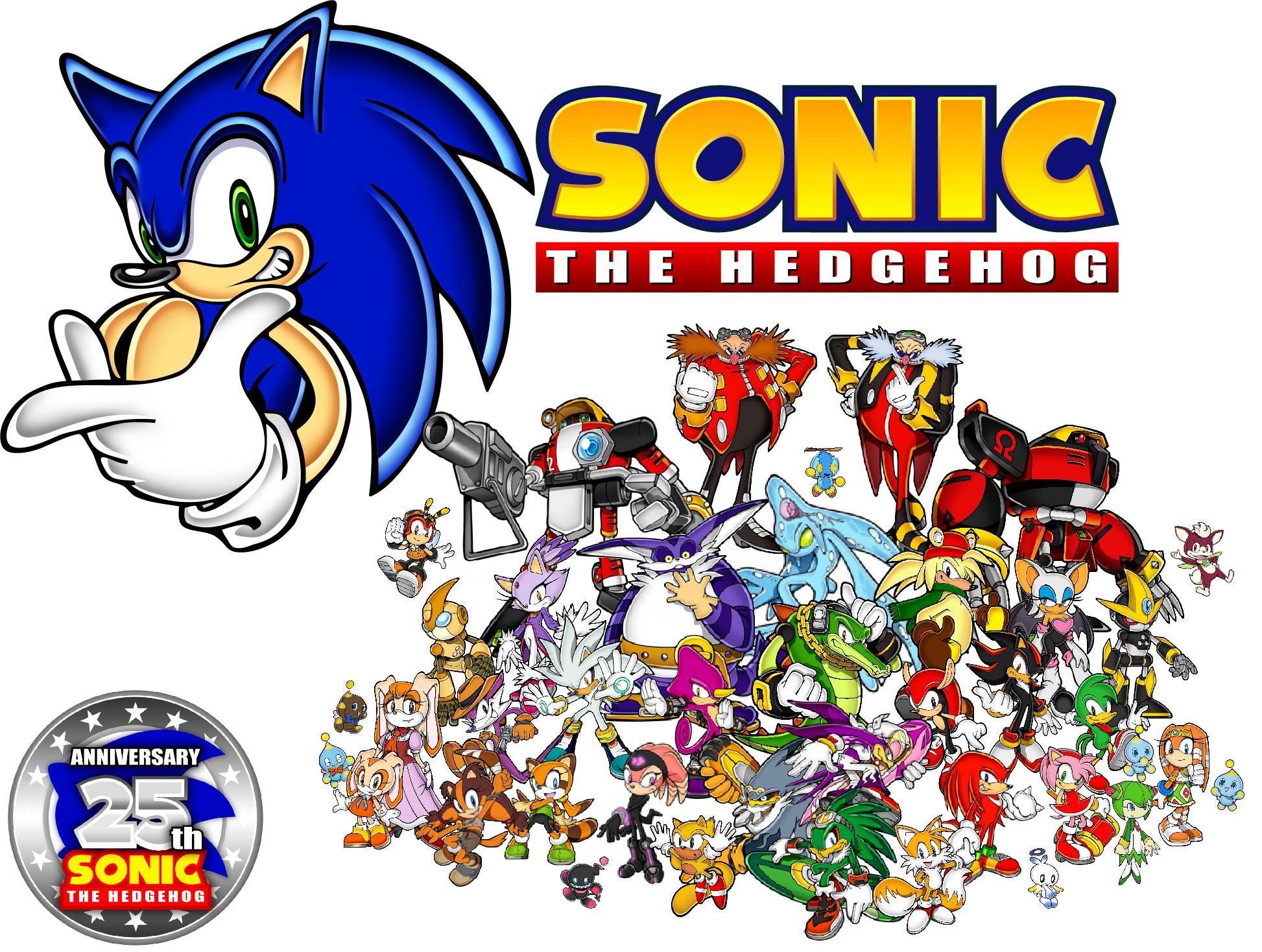 … ClariceElizabeth Sonic the Hedgehog – 25 Years of Speed! by  ClariceElizabeth