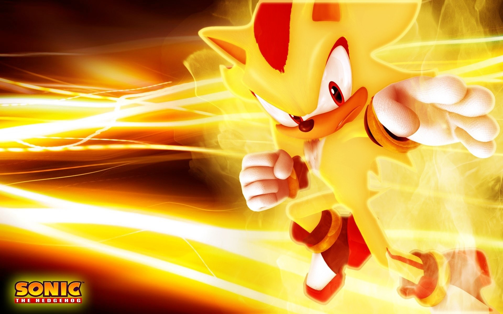 Video Game – Sonic the Hedgehog Super Shadow Wallpaper