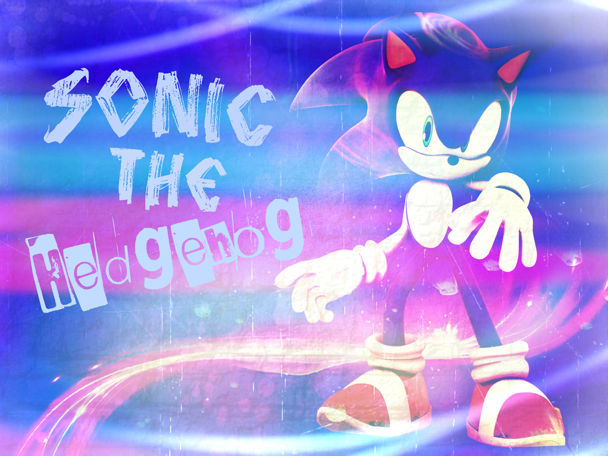 Sonic The Hedgehog Wallpaper by LuniiCookiez Sonic The Hedgehog Wallpaper  by LuniiCookiez