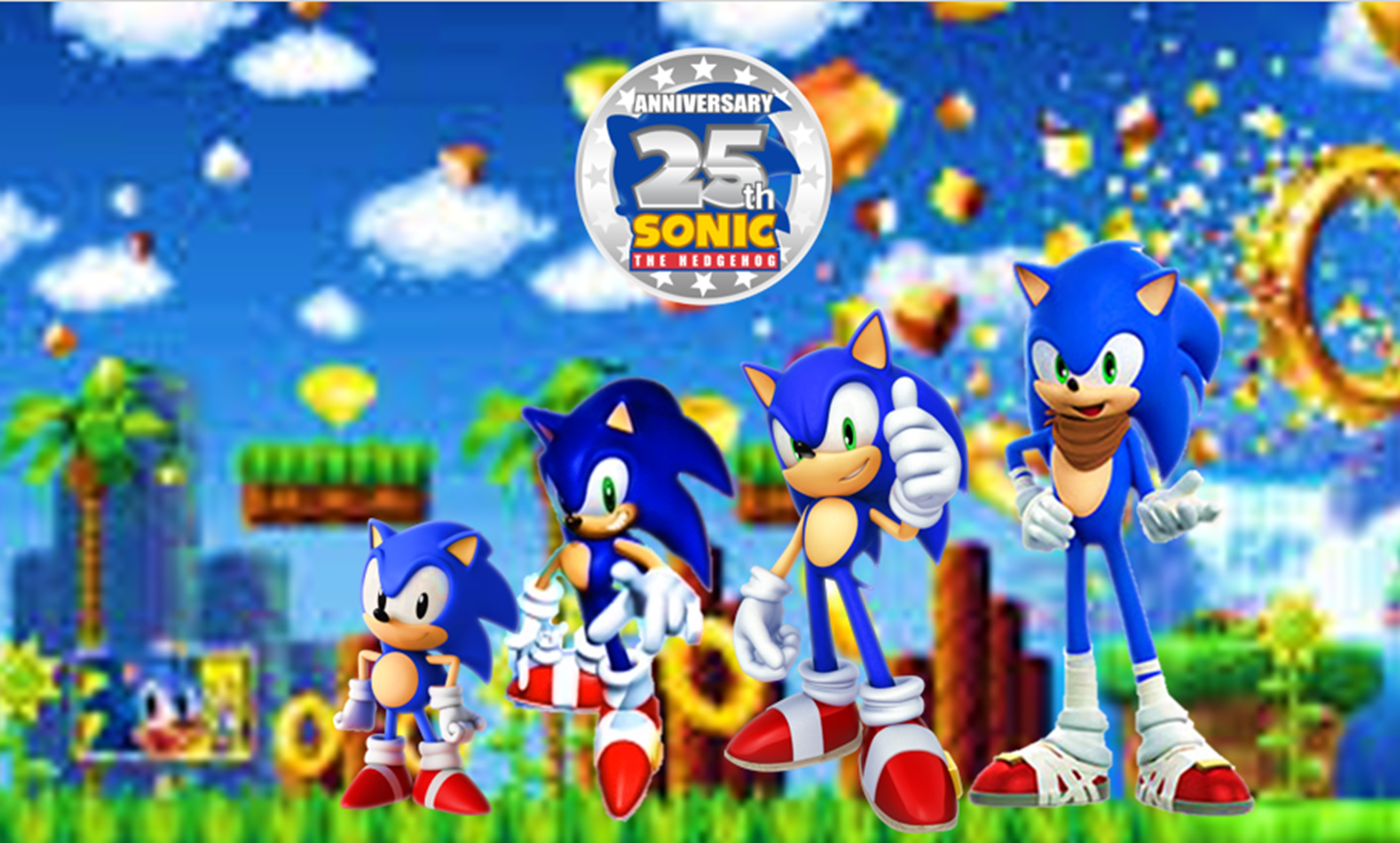 … 25th Anniversary of Sonic the Hedgehog by 9029561
