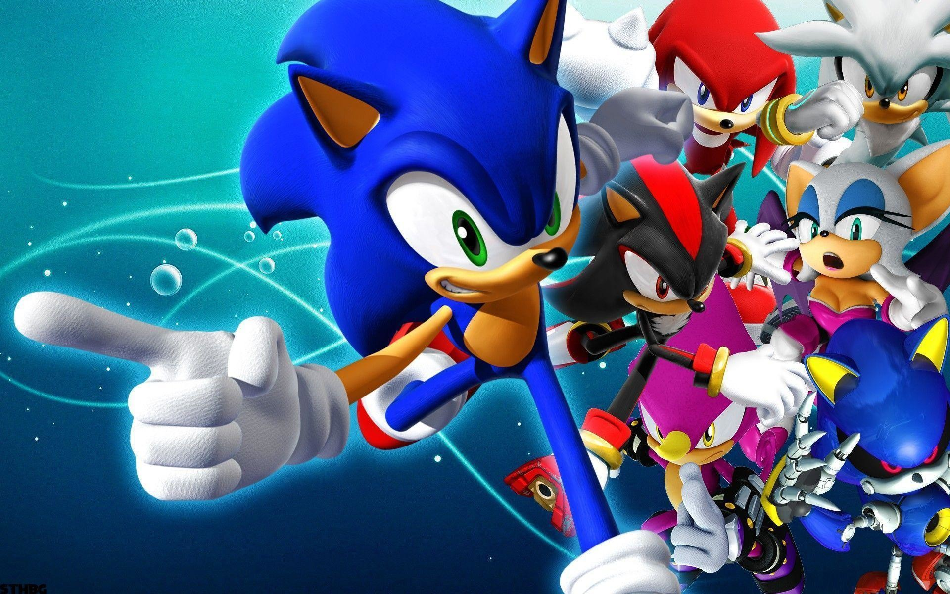 Sonic The Hedgehog Backgrounds – Wallpaper Cave