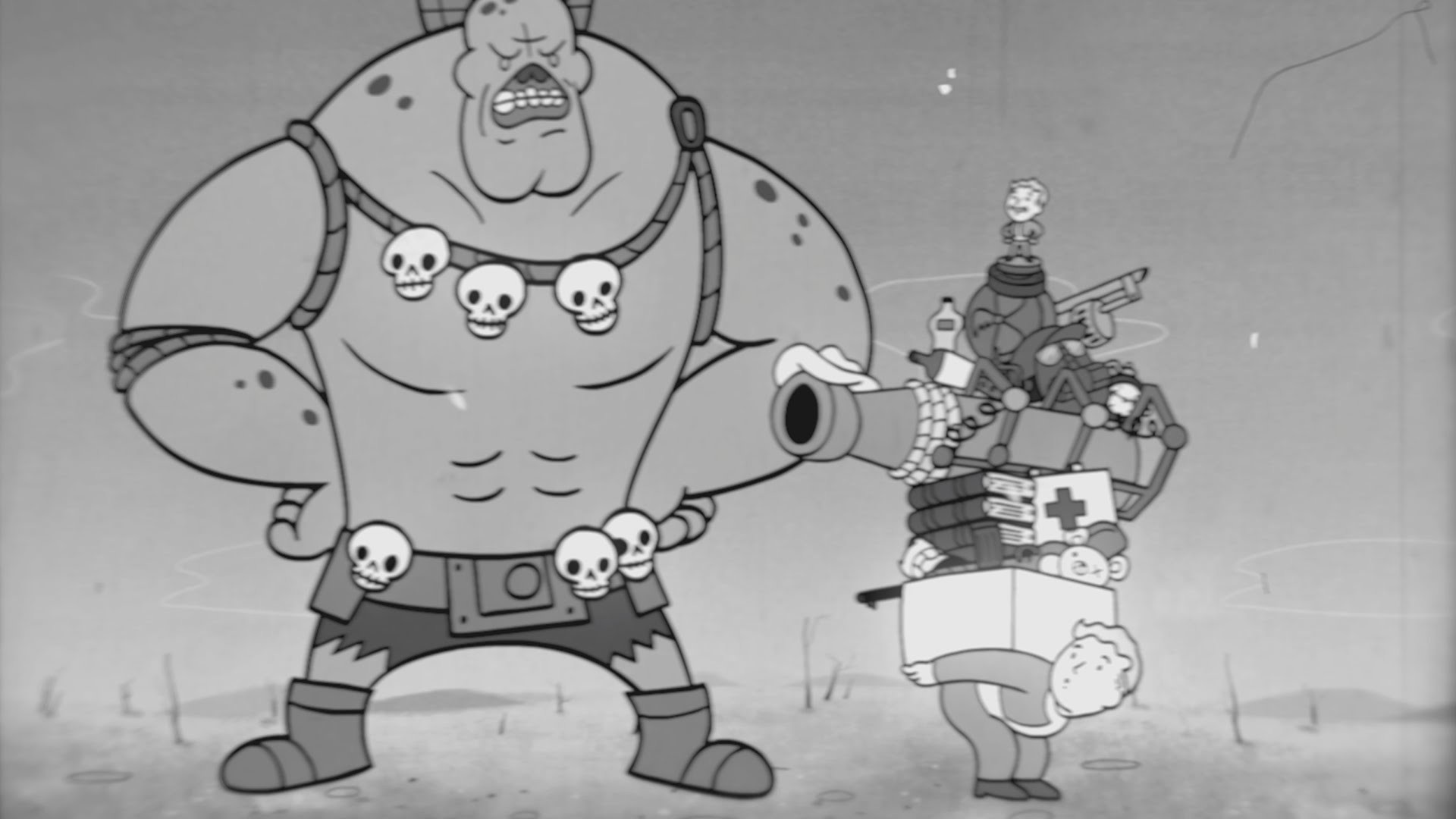 Motionographer Making cute 1950s-style animations for a cruel,  post-apocalyptic world