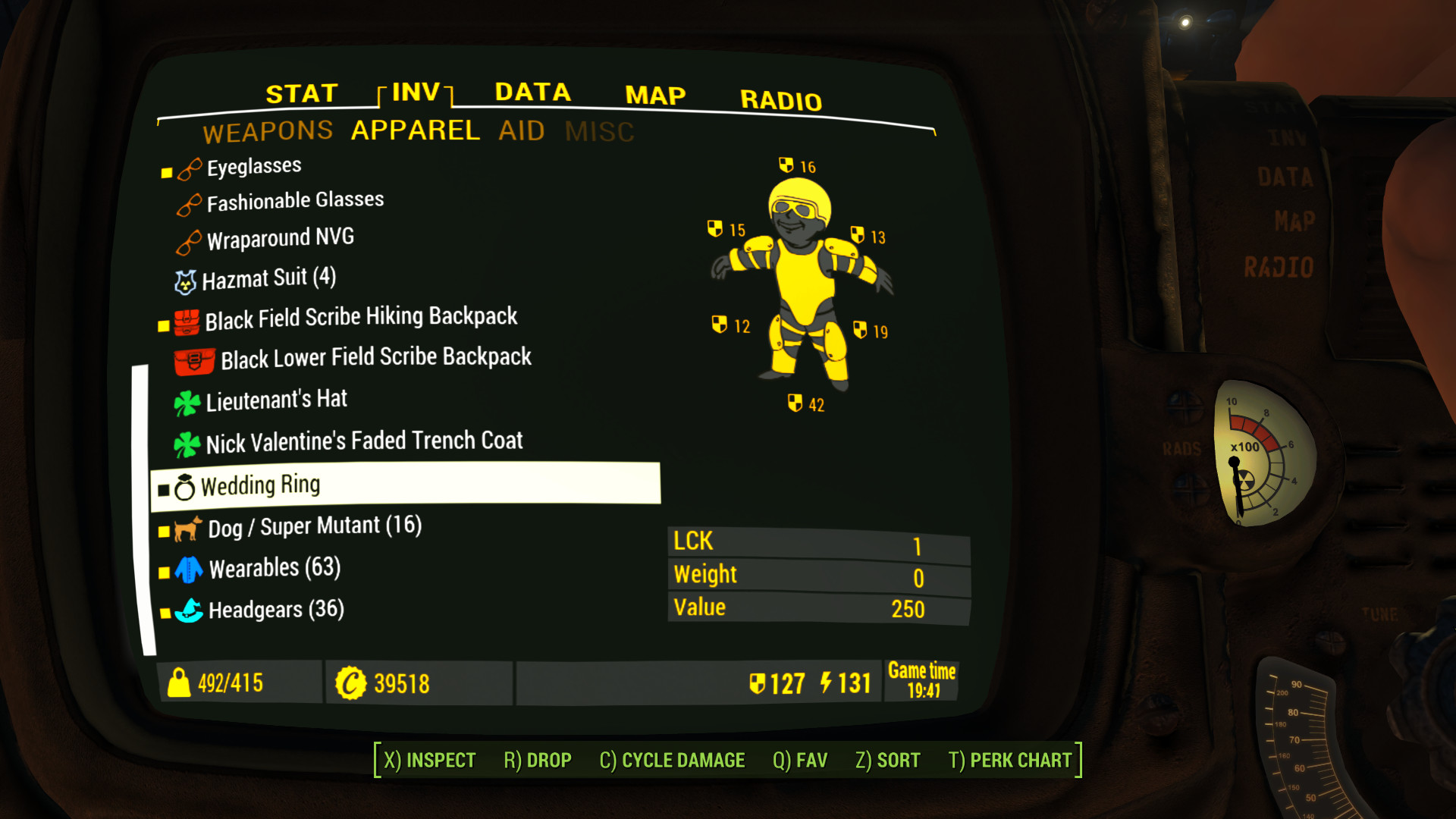 Gold Kit for Color Pipboy -anti-Black and White Screen- at Fallout 4 Nexus  – Mods and community