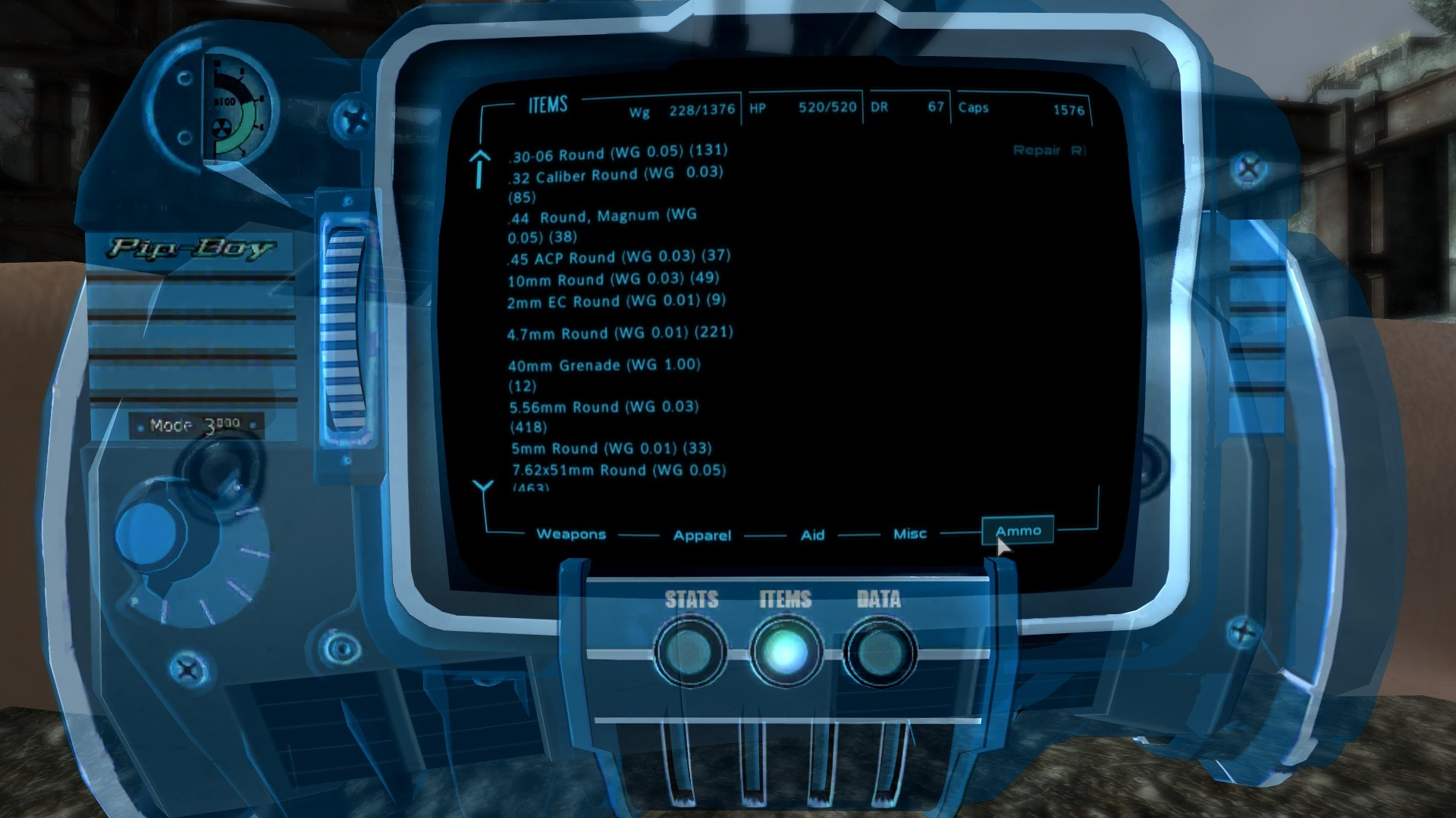 Hologram Pip-Boy 3000 Enriched – Holographic Wristband Replacer Addon at  Fallout3 Nexus – mods and community
