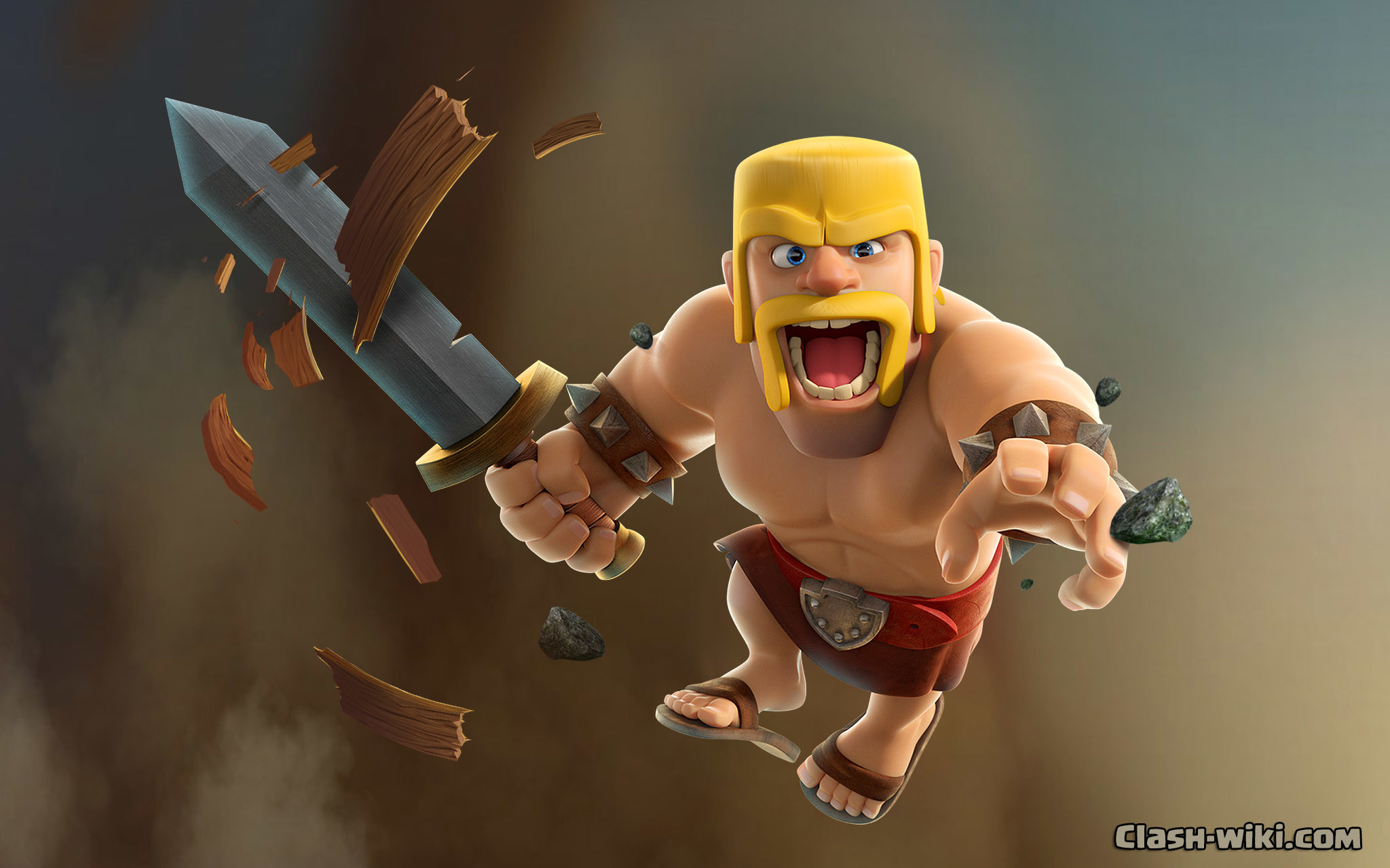 The Barbarian – Serious about battle, casual about footwear