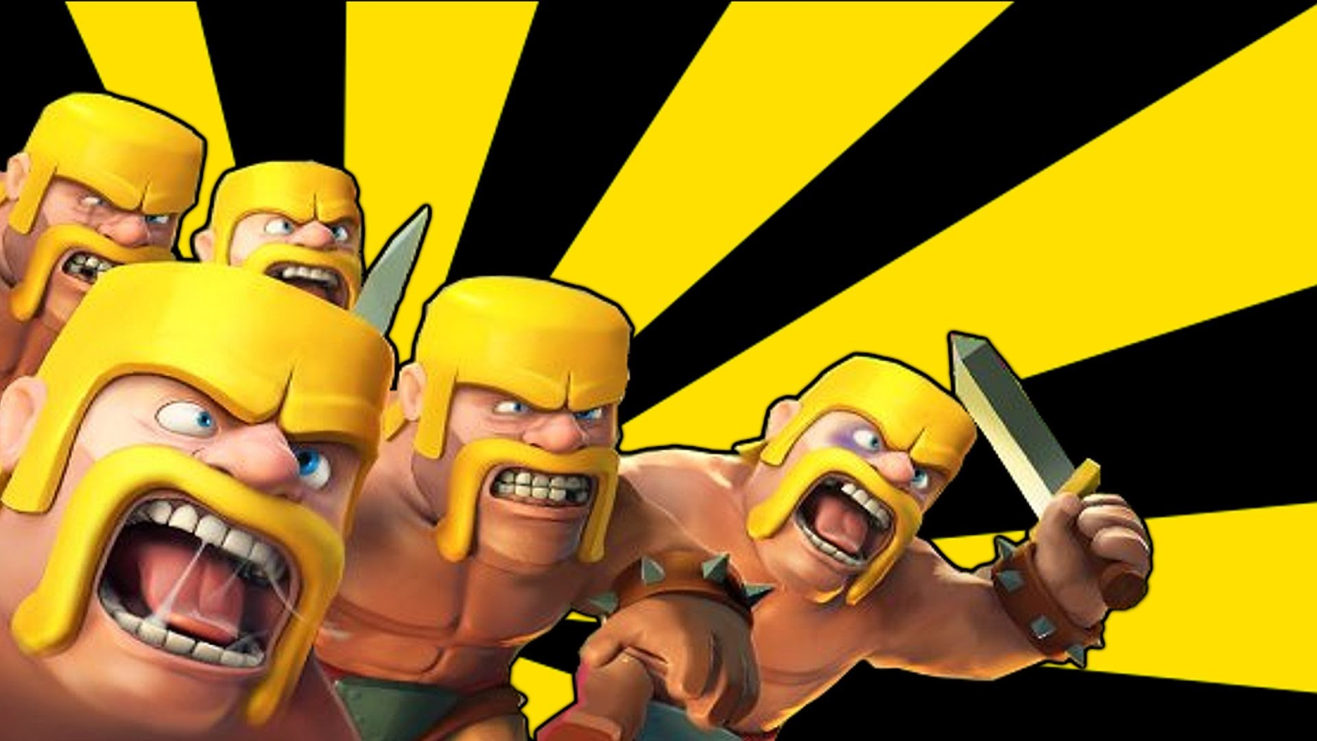 … Clash Of Clans Logo Clash of clans – barbarian mob …
