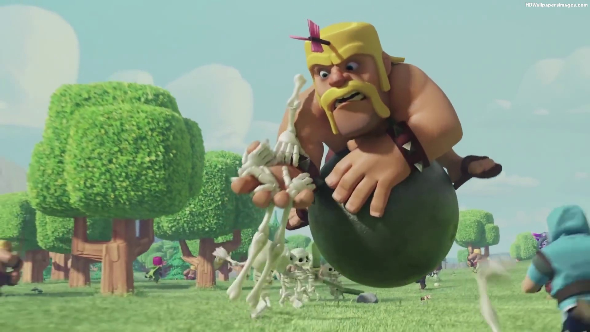 Clash Of Clans Skull Hand Images | HD Wallpapers Images