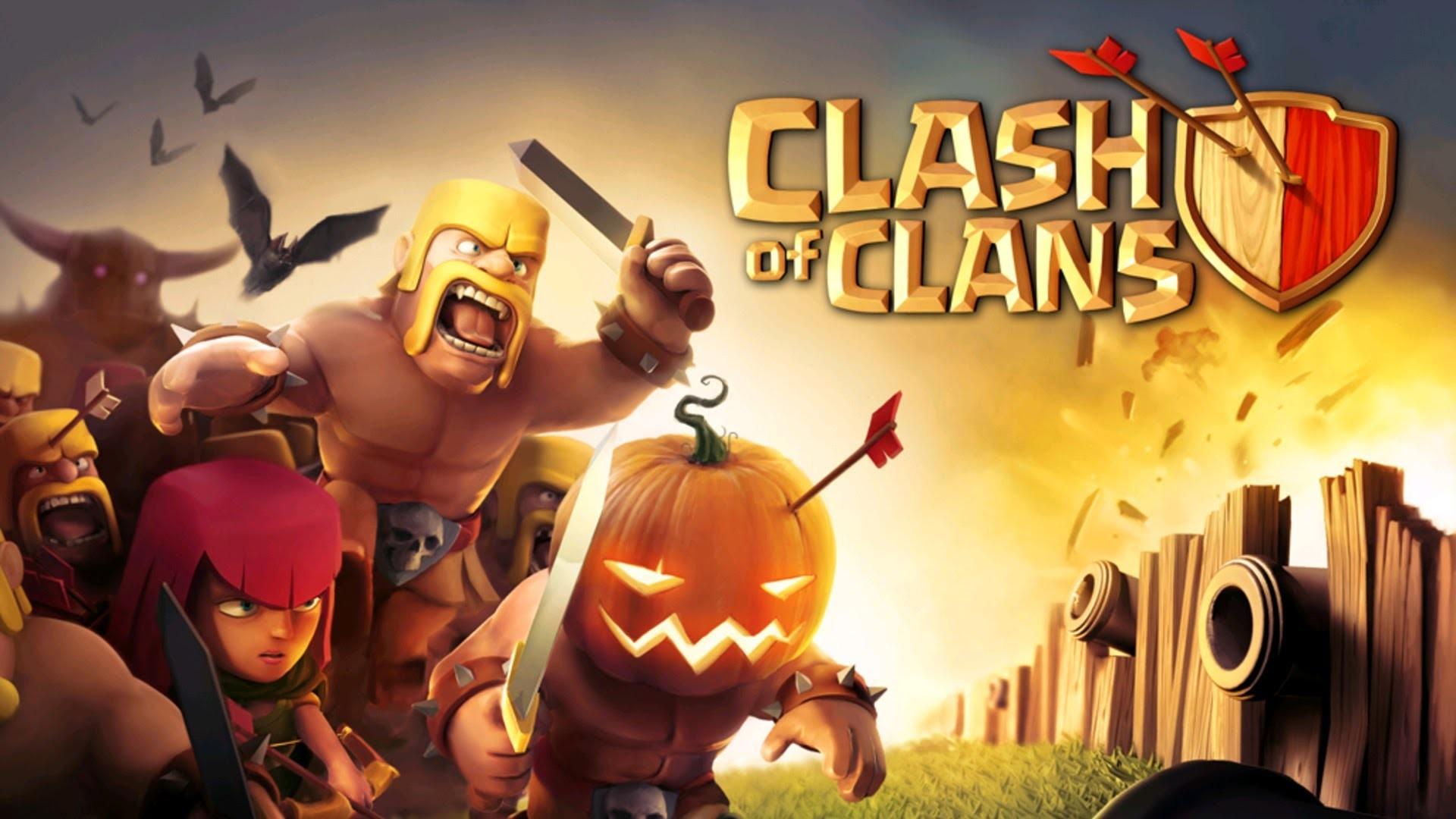 Clash of Clans Halloween Update wallpaper