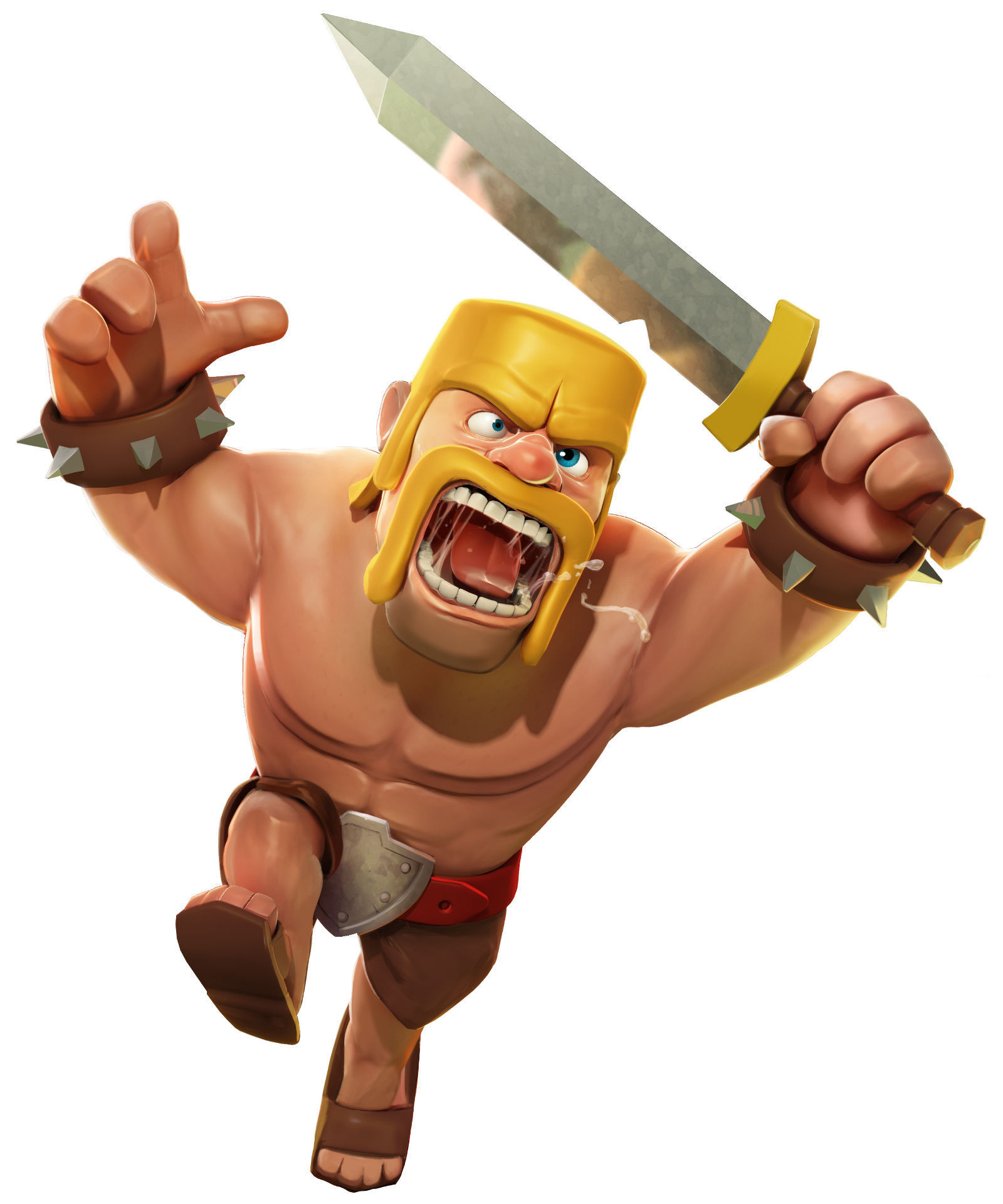 61 Clash Of Clans Barbarian