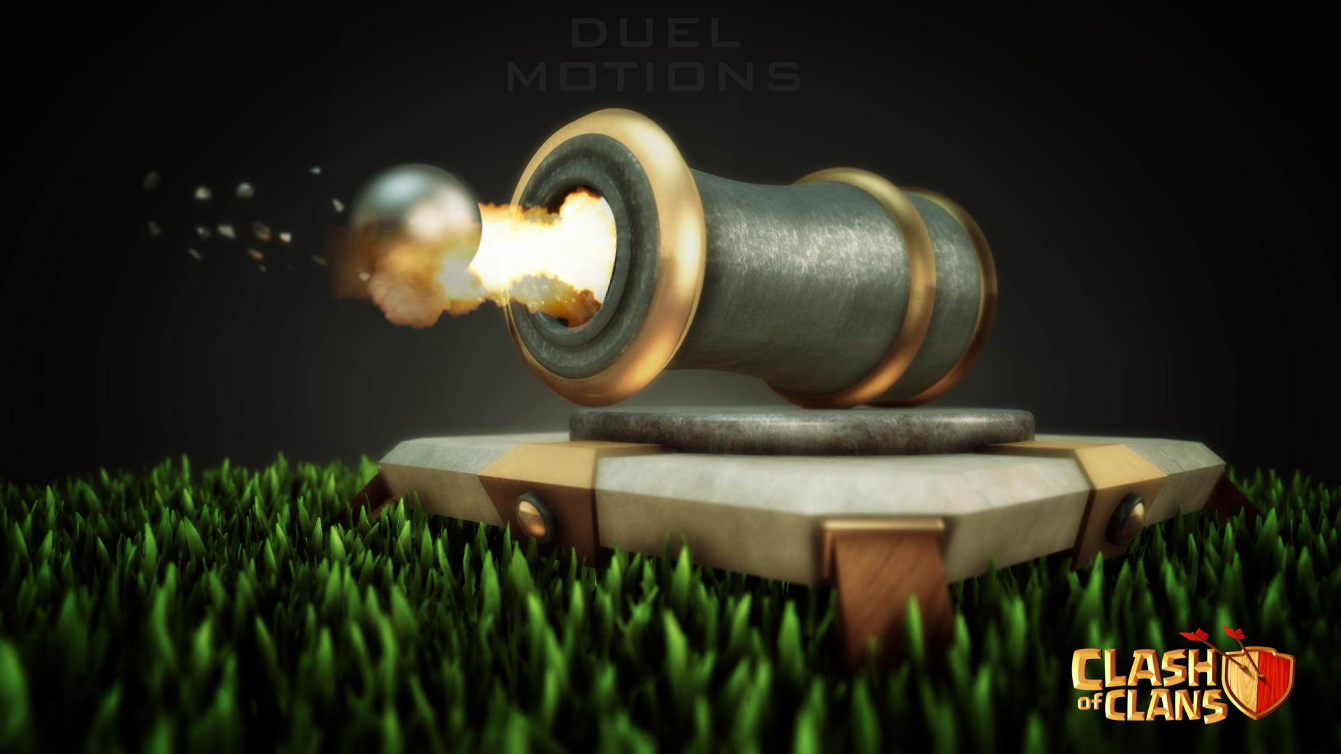 Cannon – Clash of Clans Defensive Building HD Wallpaper