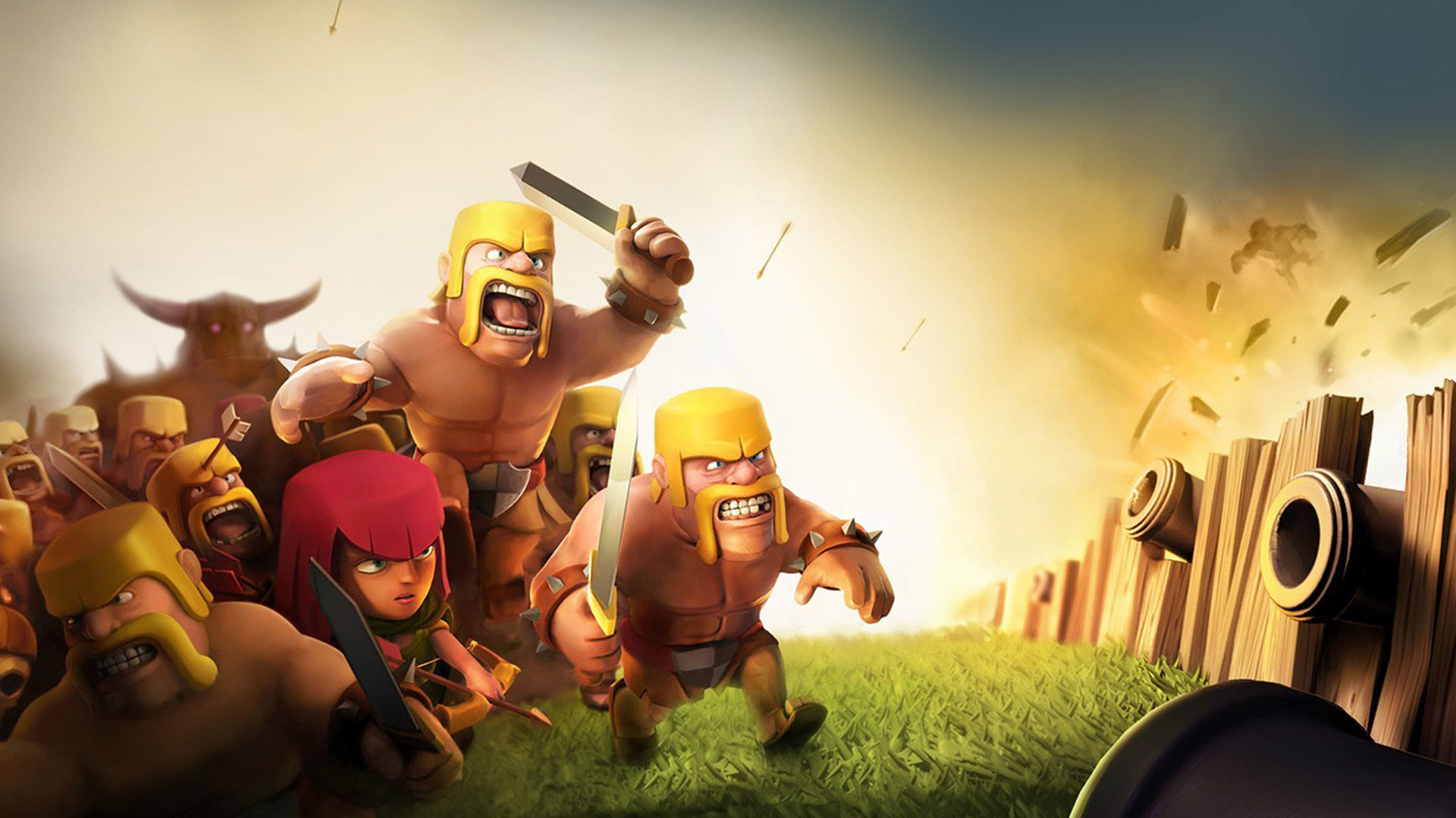 Clash of Clans – Fortress Attack wallpaper