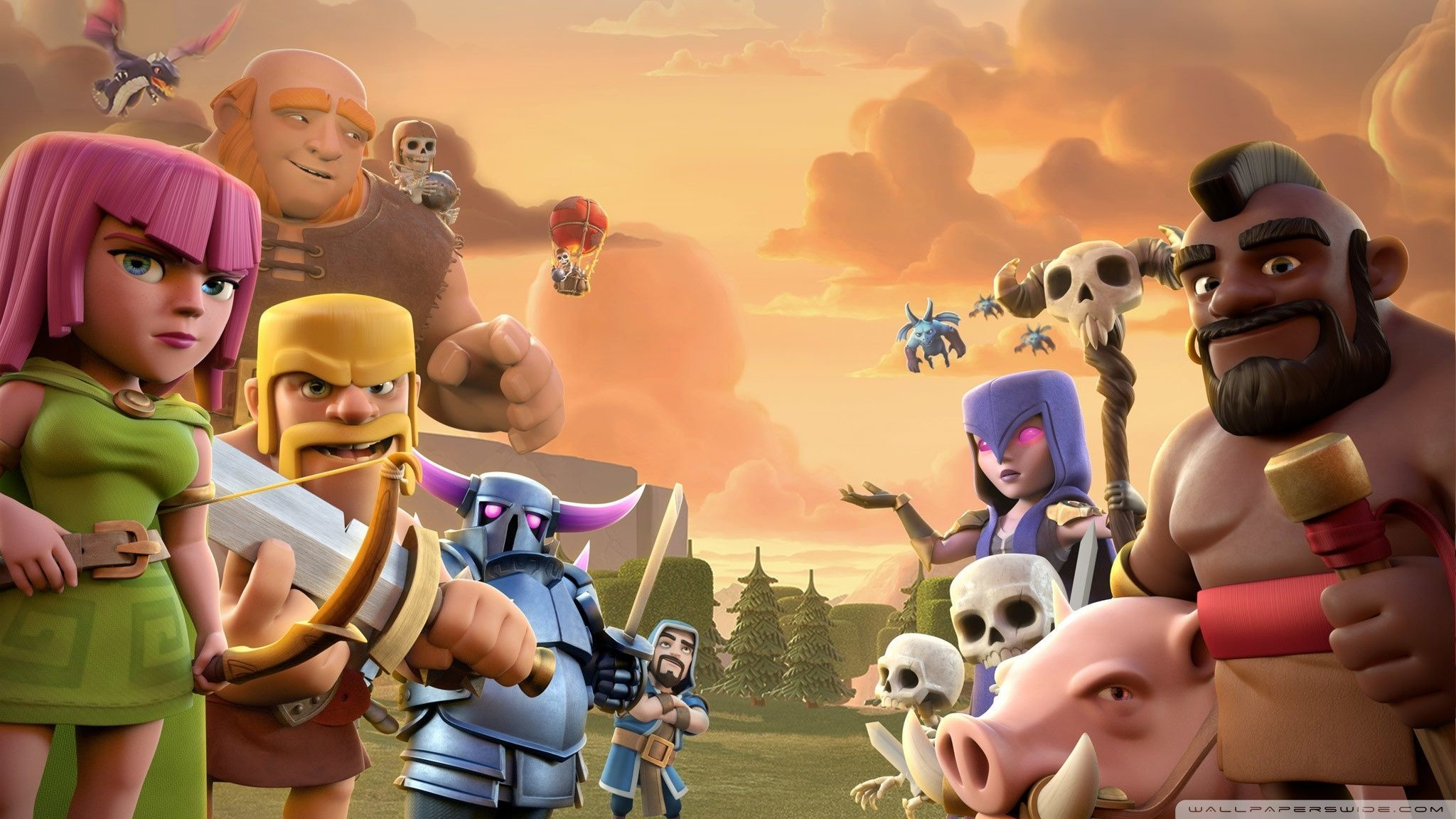 #8 Wallpaper HD Android Clash of Clans