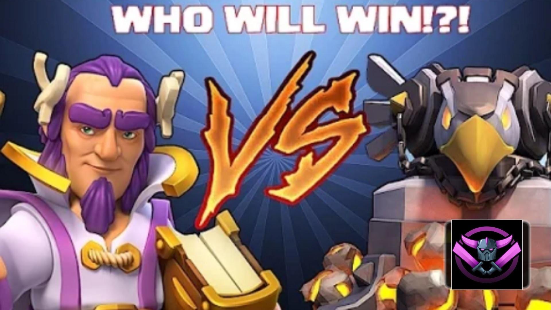 Clash Of Clans – Eagle Artillery vs Grand Warden!!!