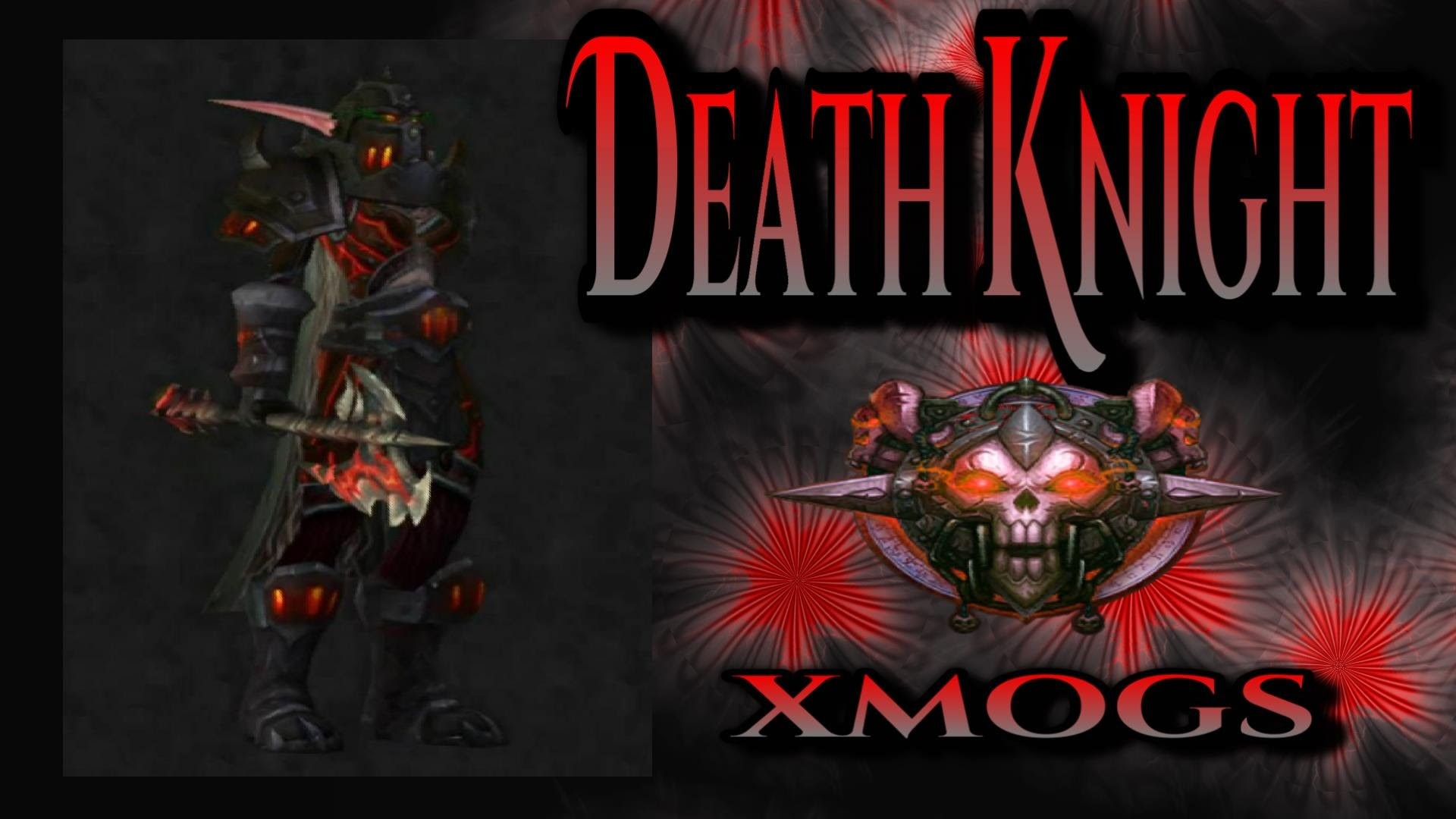 World of Warcraft – Death Knight Transmogs – Black Executioner Xmog Set –  YouTube