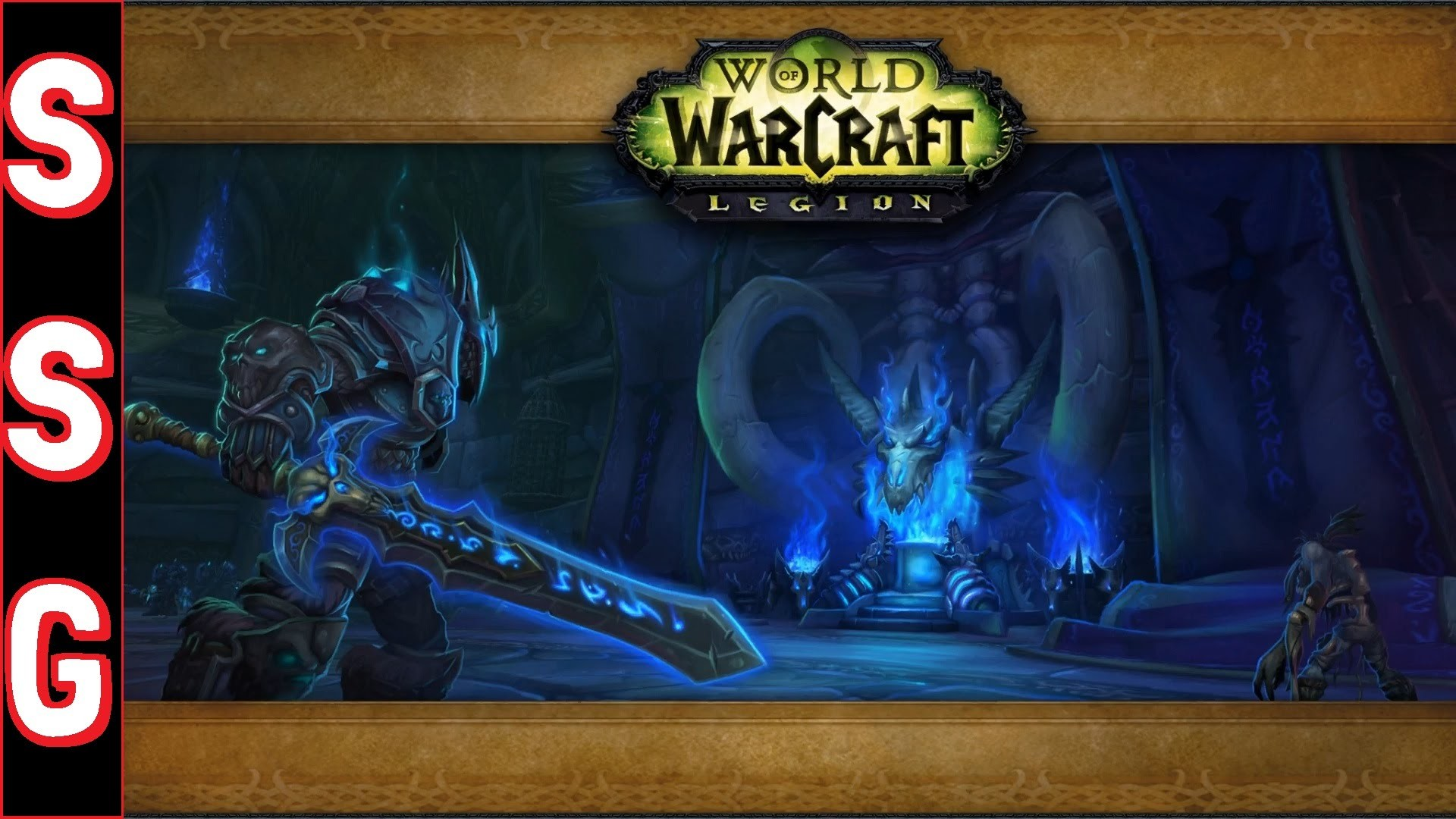 World of Warcraft: Legion [PC] – First 30 Minutes – Death Knight Gameplay –  No Commentary