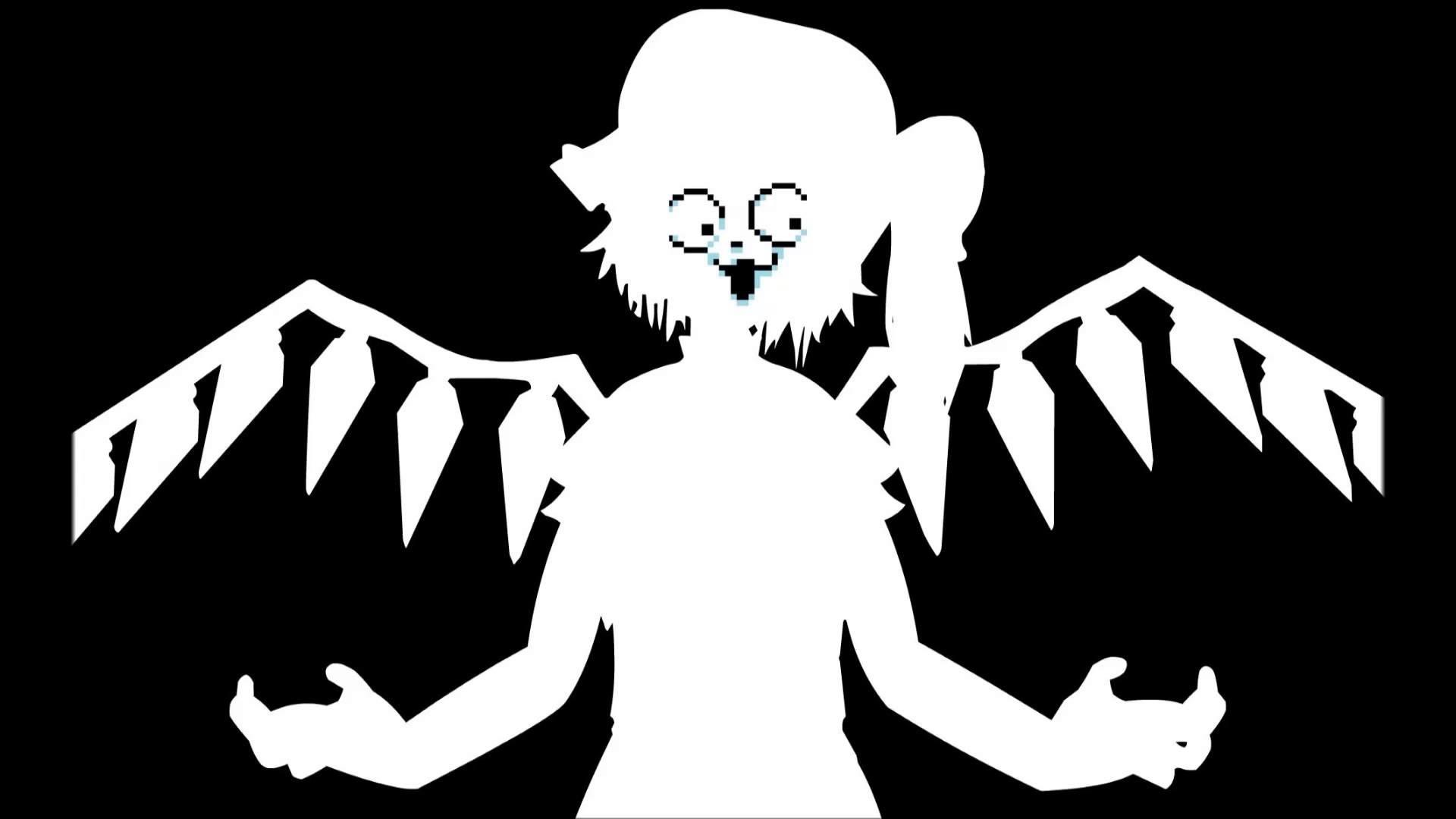 [Temmie] Touhou – Bad Apple – YouTube
