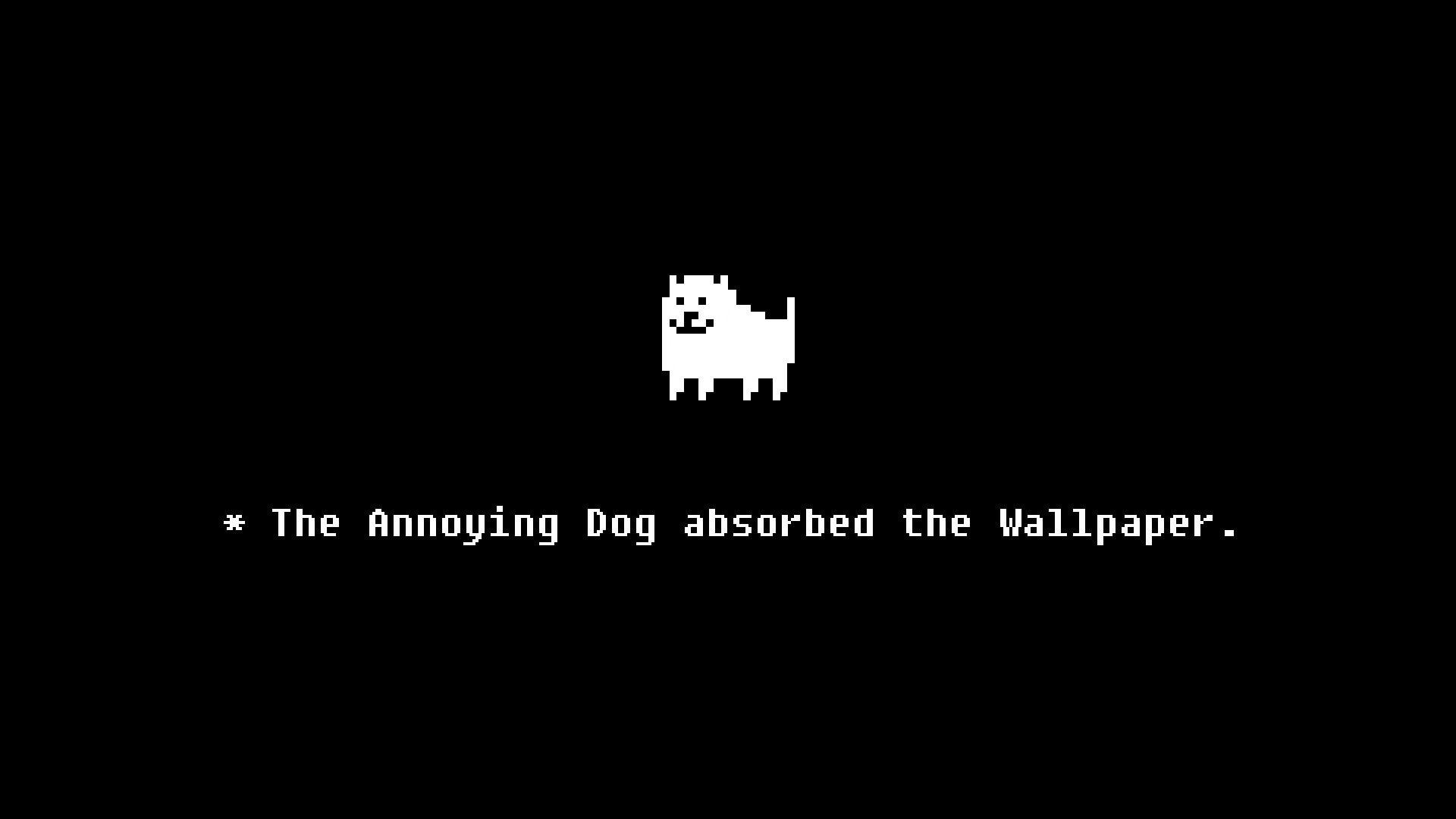 Did an Undertale wallpaper for you guys. : Undertale