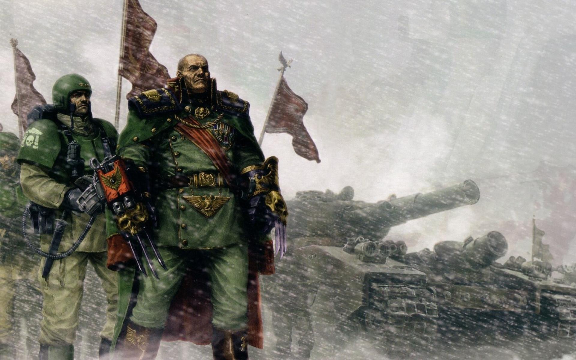 Imperial Guard Warhammer Wallpaper » WallDevil – Best free HD desktop .