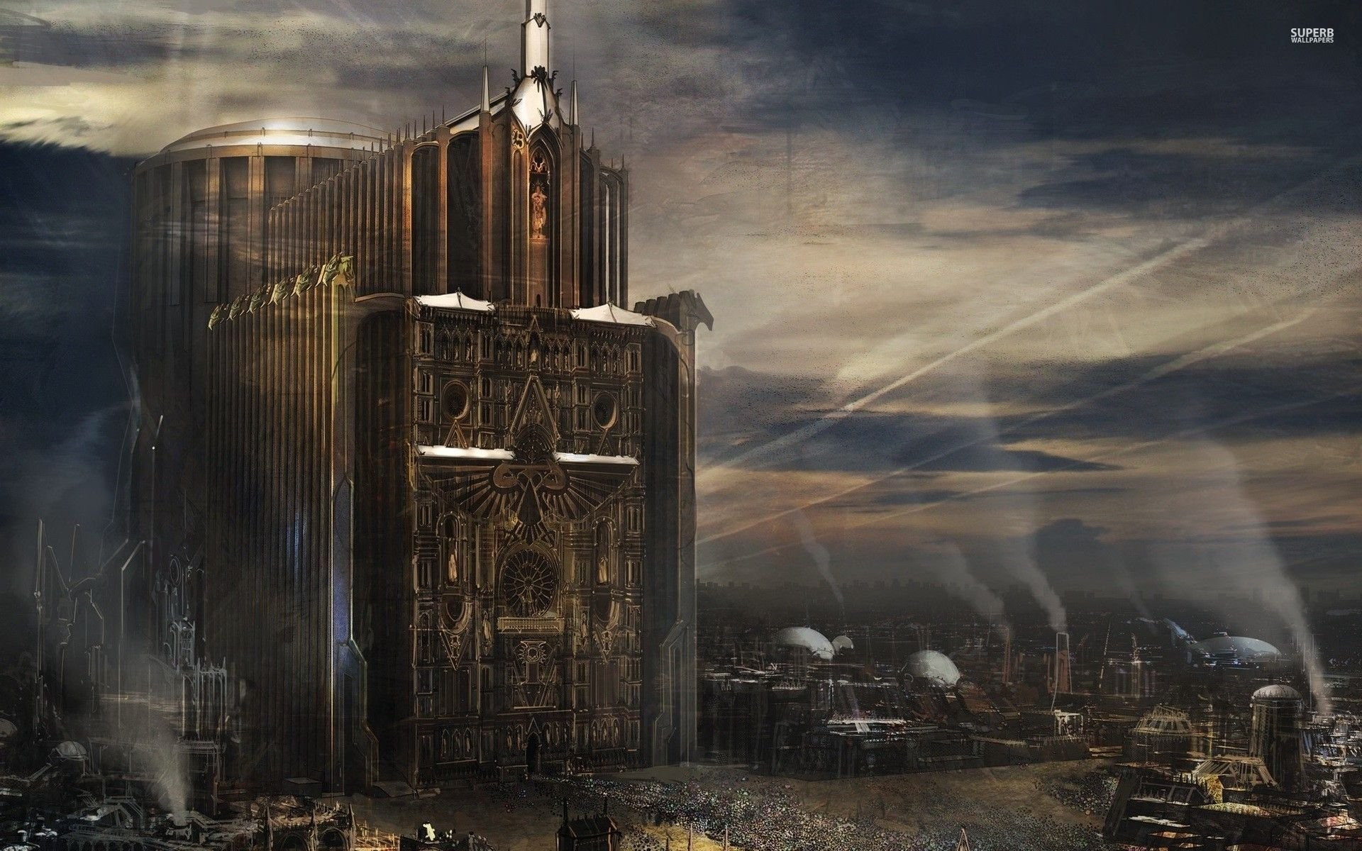 Imperial Cathedral – Warhammer 40 000; imperial guard …
