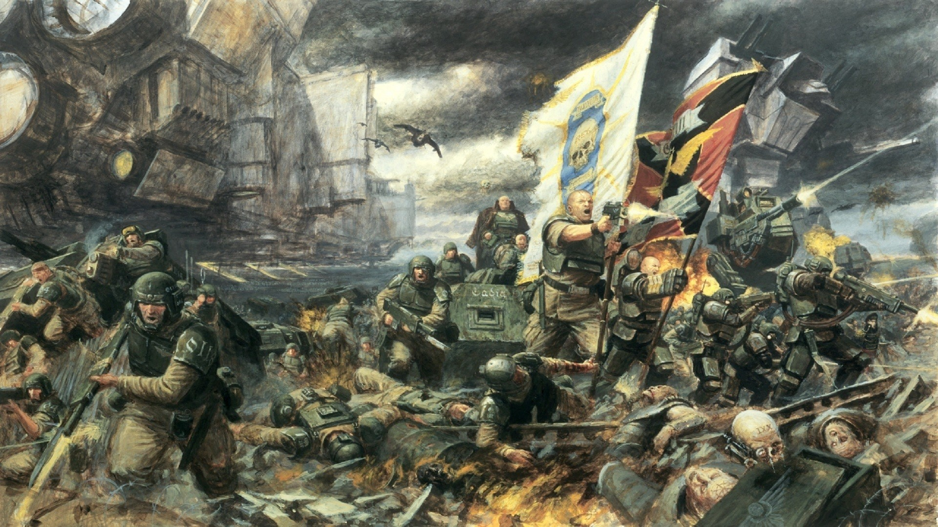 Imperial guard_battle for cadian