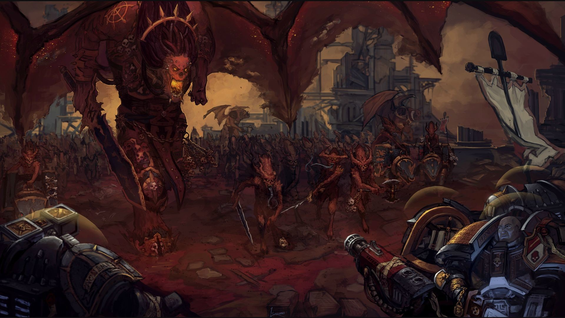 My personal Warhammer 40k wallpaper dump Part4! Enjoy