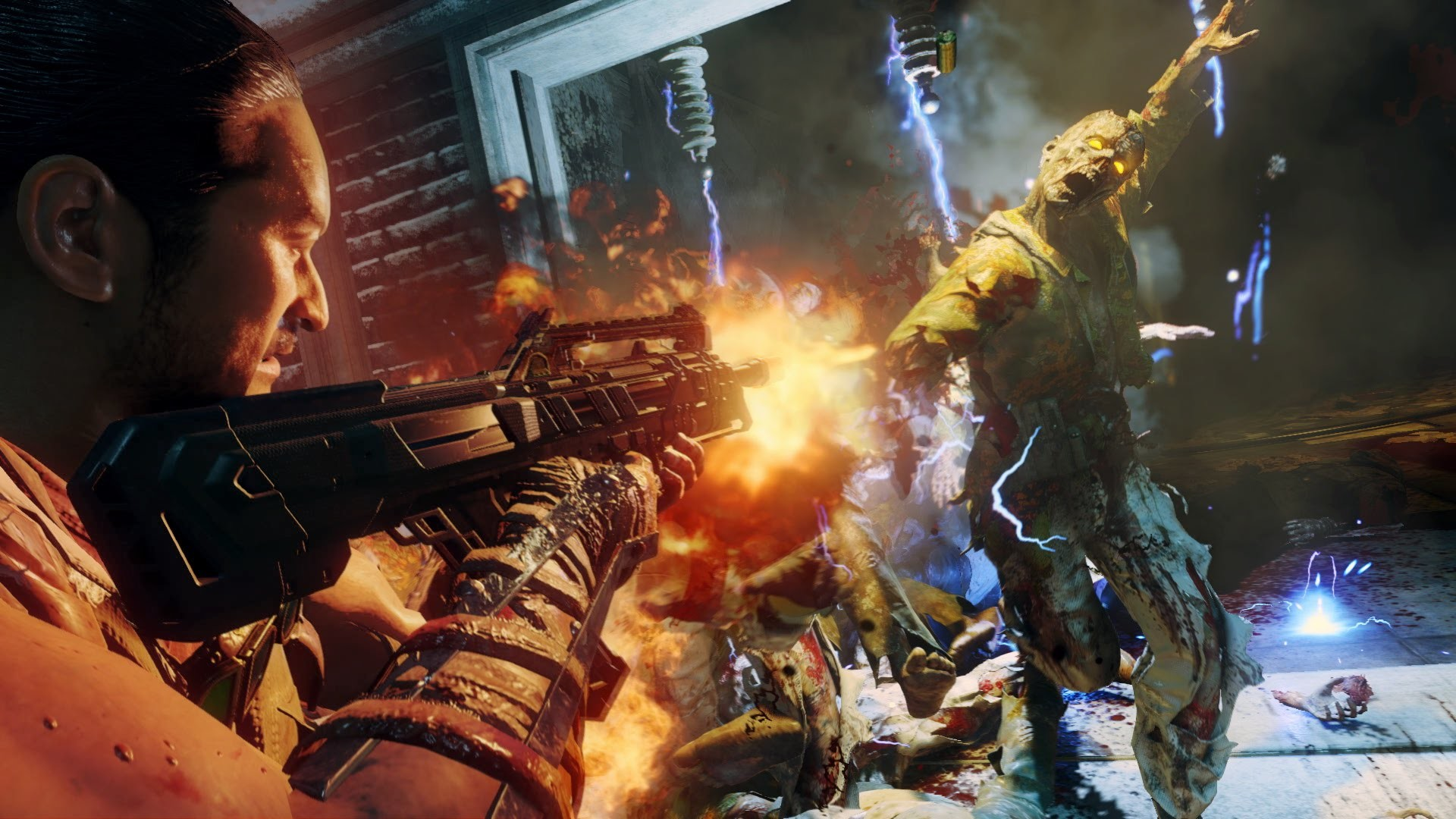 """Official Call of Duty®: Black Ops III – """"The Giant"""" Zombies Bonus Map  Gameplay Trailer [UK] – YouTube"""