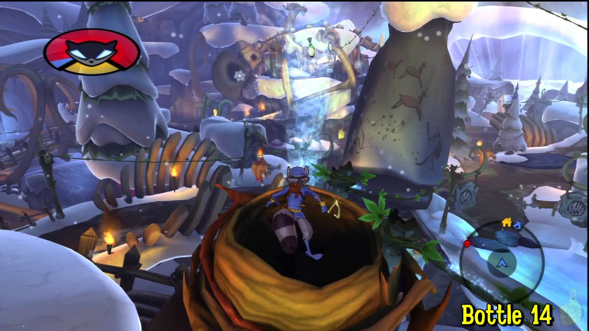 Sly Cooper Thieves in Time: Episode 3 – Gungathal Valley – All 30 Bottles –  HTG – YouTube