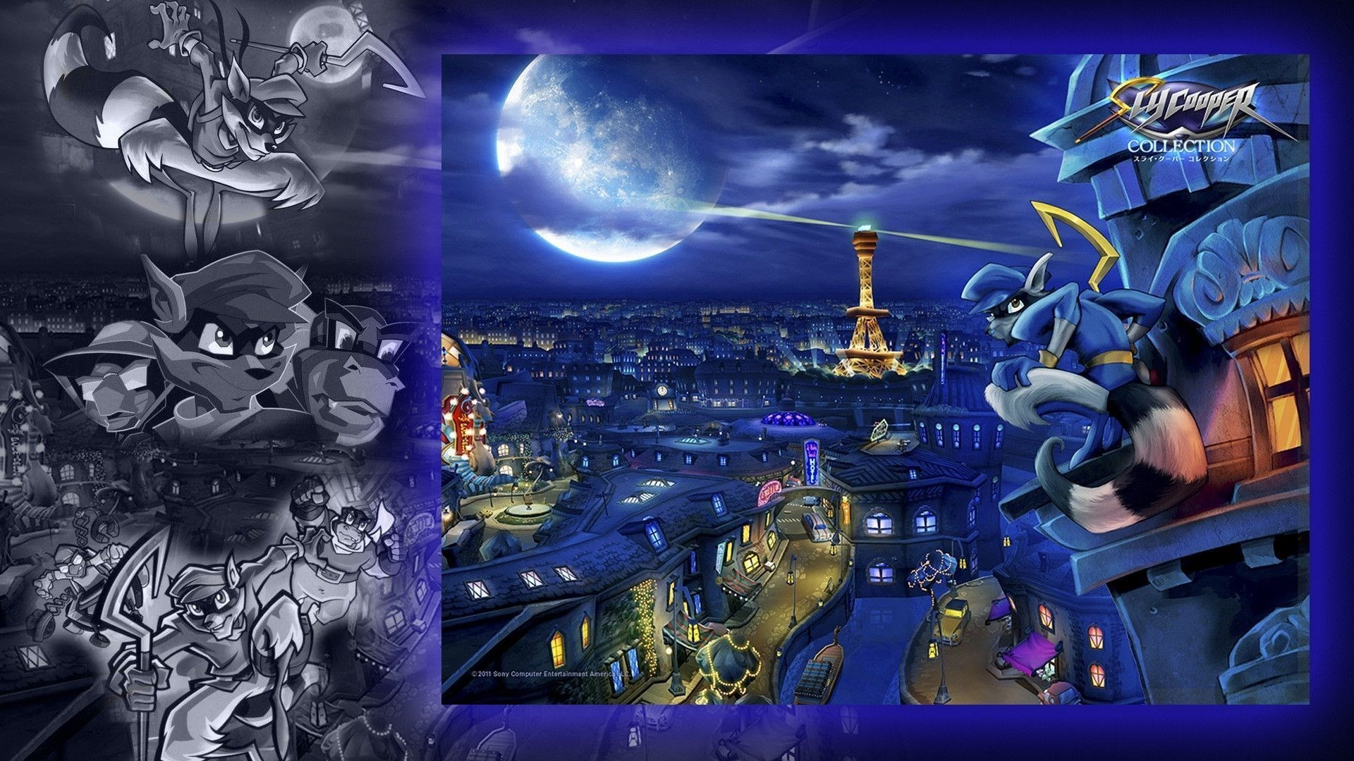 sly cooper thieves in time iphone wallpaper …