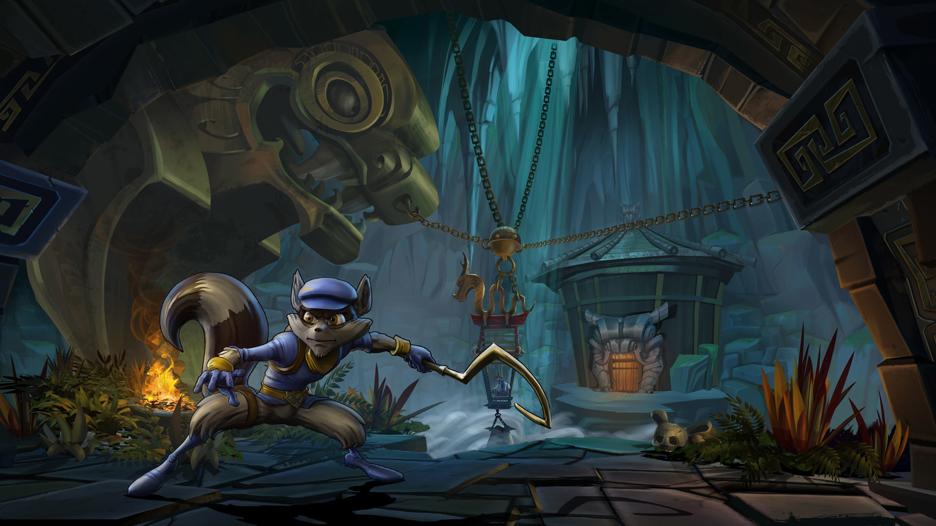 Free Sly Cooper: Thieves in Time Wallpaper in 1920×1080