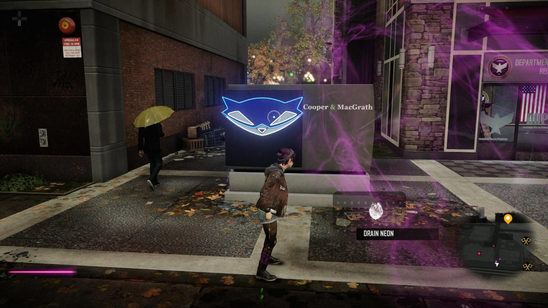 Sly Cooper in Infamous First Light …