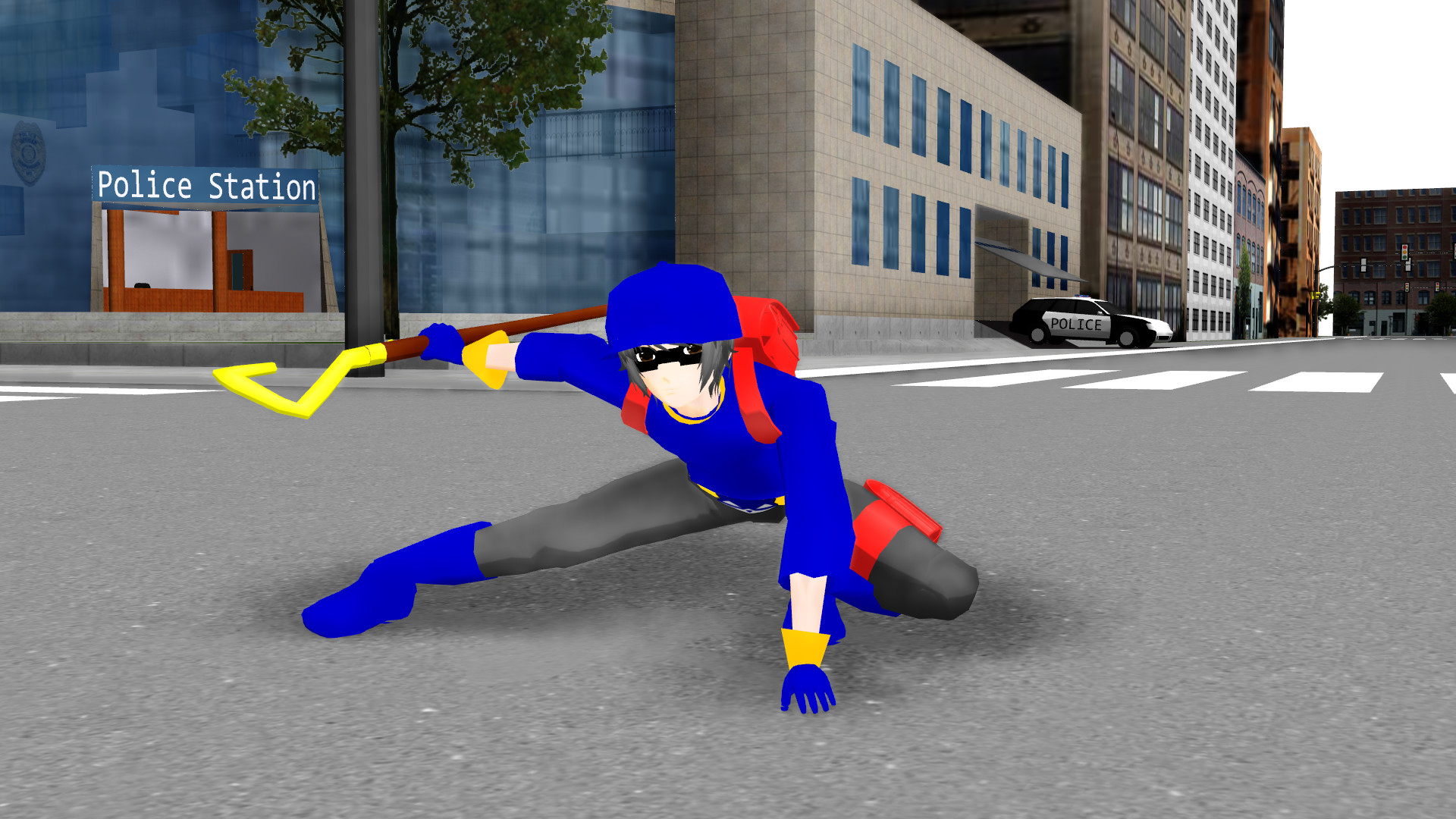 … Human Sly Cooper MMD DL by slyfan1030