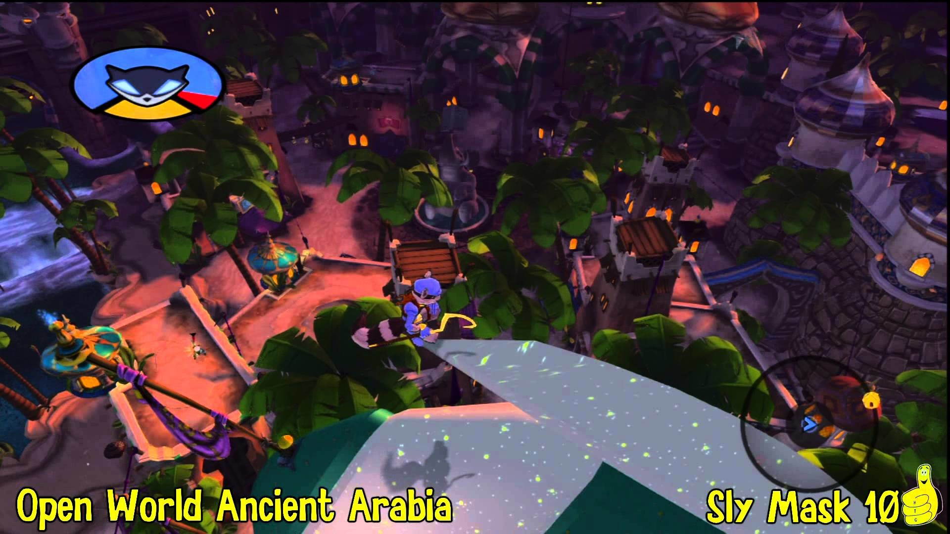 Sly Cooper Thieves in Time: Episode 5 – Ancient Arabia Sly Mask Locations –  HTG – YouTube