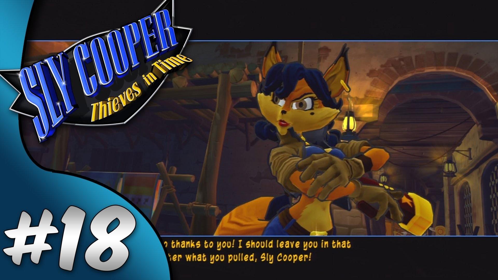 Sly Cooper Thieves in Time | Walkthrough | Episode 18 – Saving Carmelita