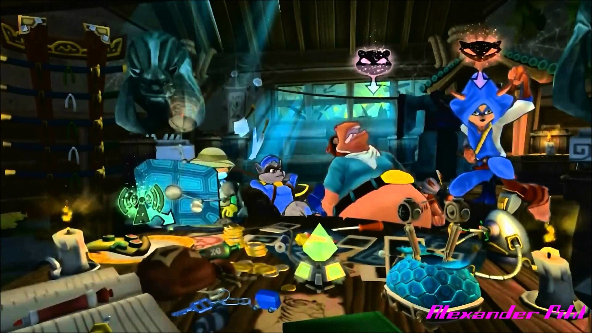 Sly Cooper: Thieves in Time – Safehouse