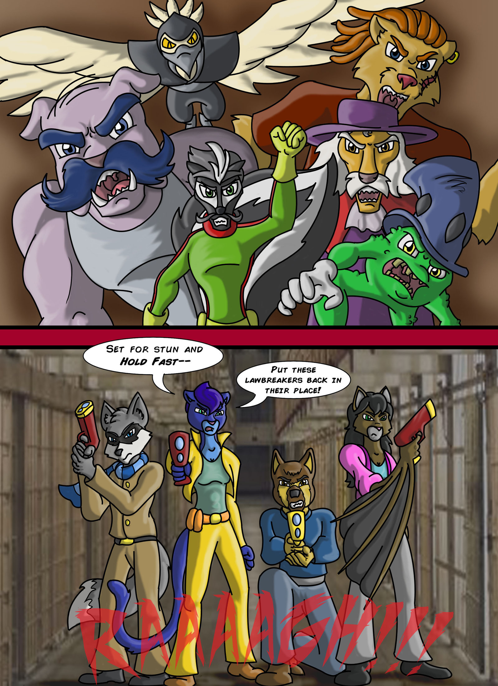 … ConnorDavidson Sly Cooper: Thief of Virtue Page 161 by ConnorDavidson