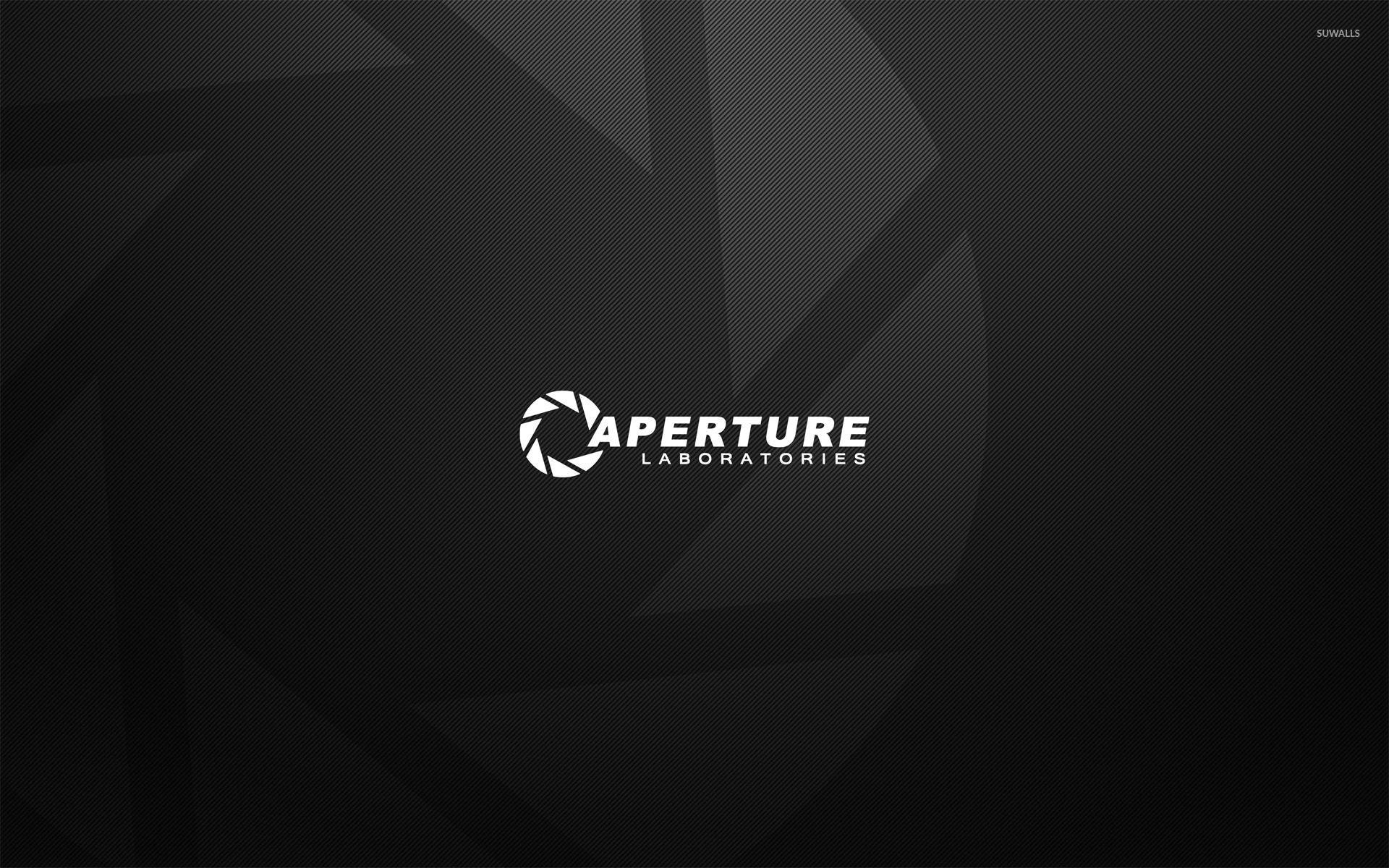 Aperture Laboratories logo wallpaper jpg