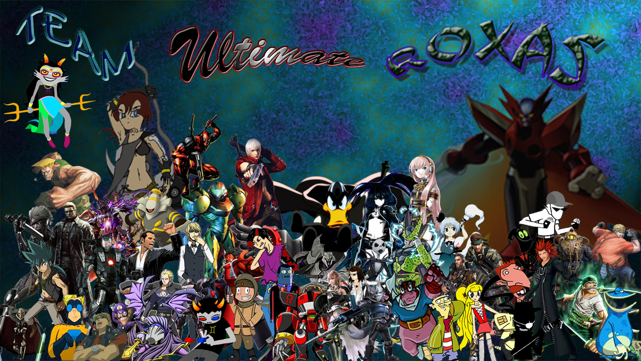 My Favorite Characters Wallpaper by DeCremer My Favorite Characters  Wallpaper by DeCremer