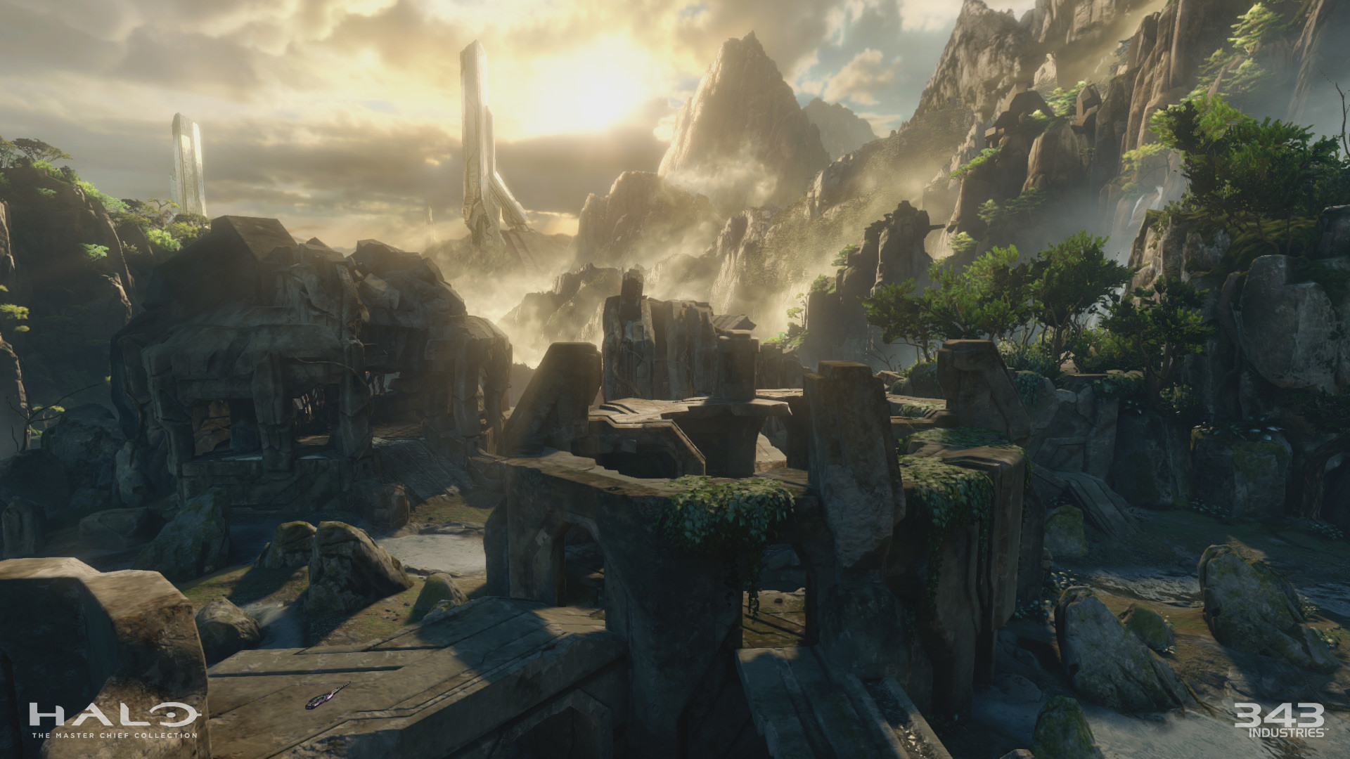 UPDATE: Here are 10 high-resolution screens of Sanctuary in Halo 2  Anniversary: